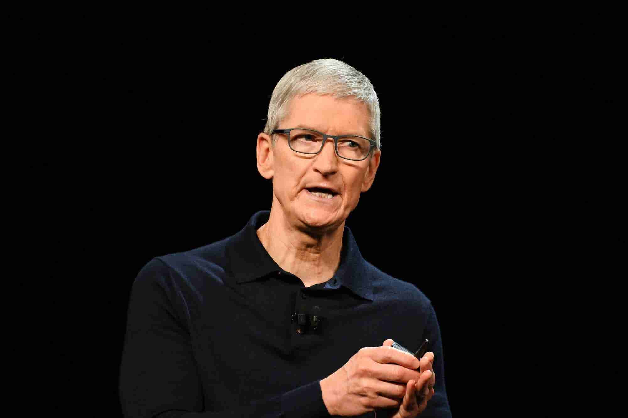 Apple CEO Tim Cook Calls for GDPR-Style Privacy Laws in the U.S.