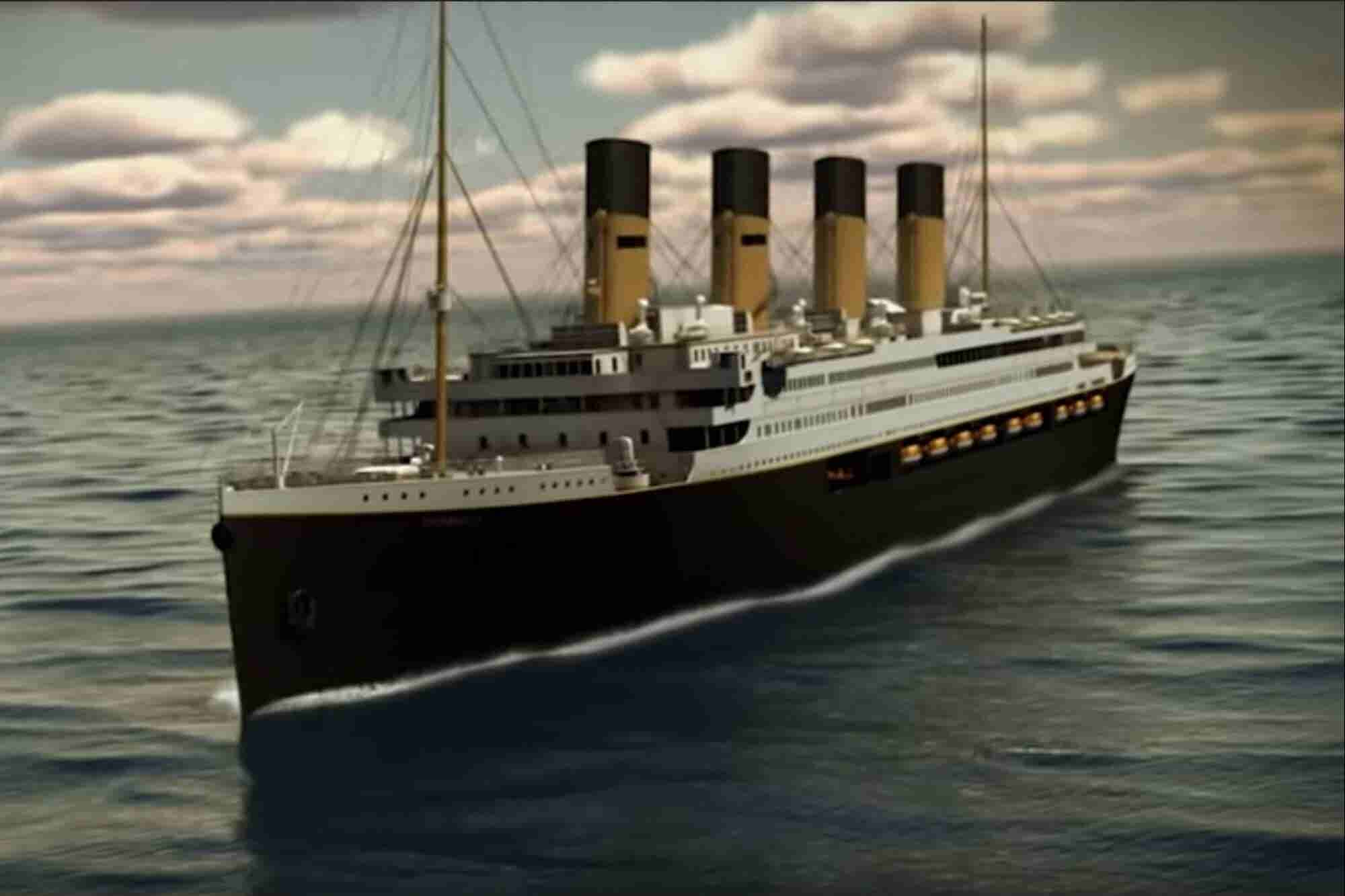 The heart will go on: el Titanic II zarpará en 2022