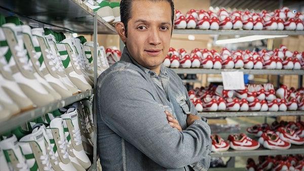 hogar Mira medio litro  Los tenis mexicanos que le dan pelea a Nike y Adidas