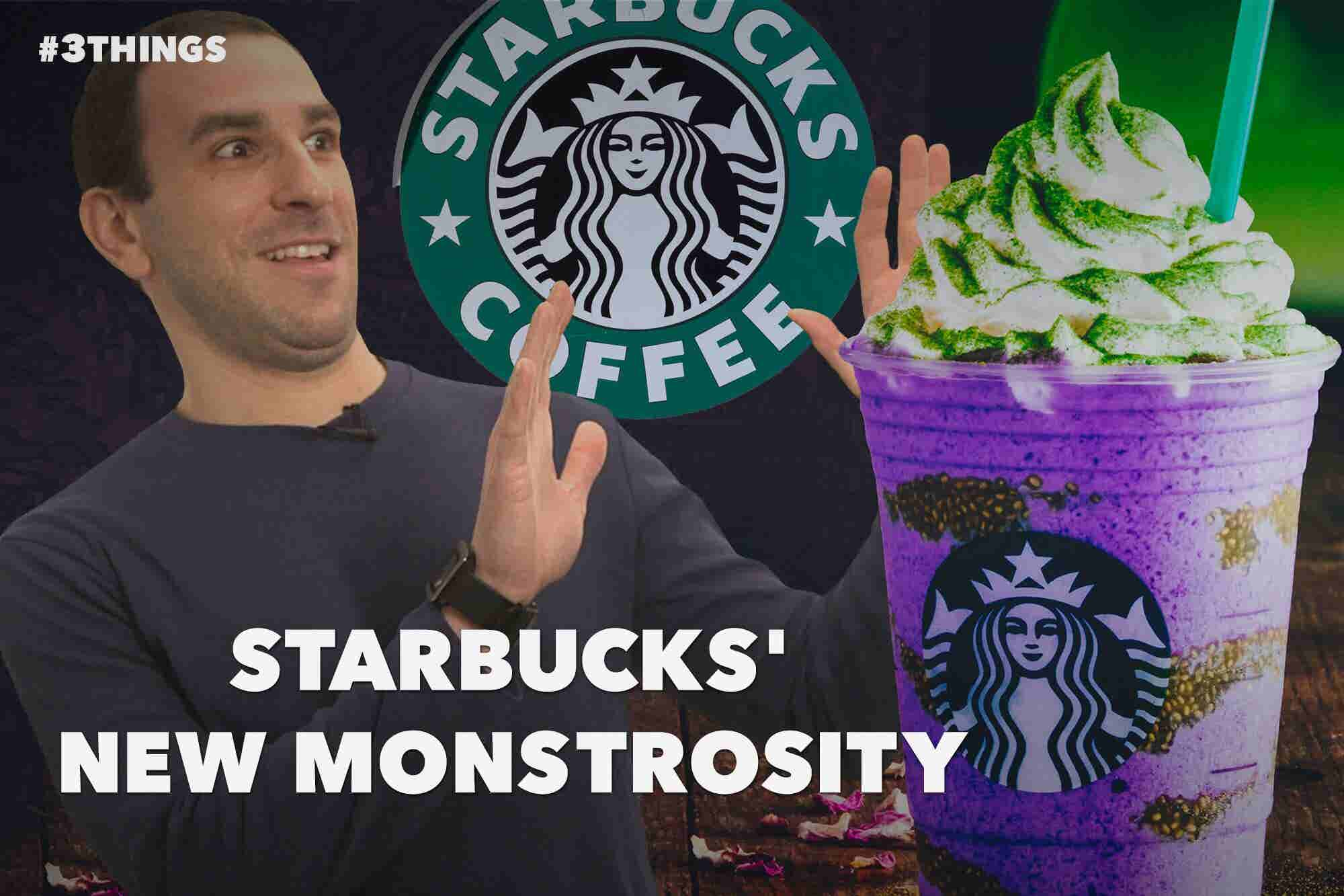 60-Second Video: Starbucks Unleashes a New Monstrosity!