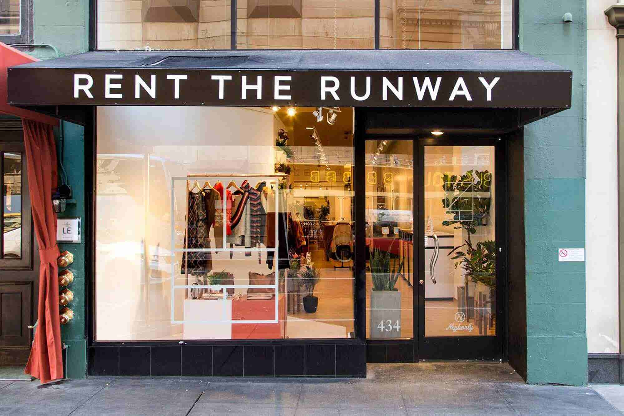 Rent the Runway Partners With WeWork