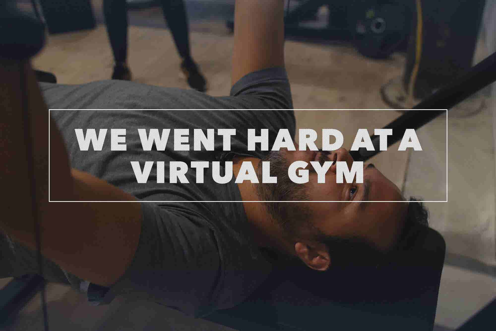 We Tried a High-Tech New Fitness System and Got Yelled at by a Digital Trainer
