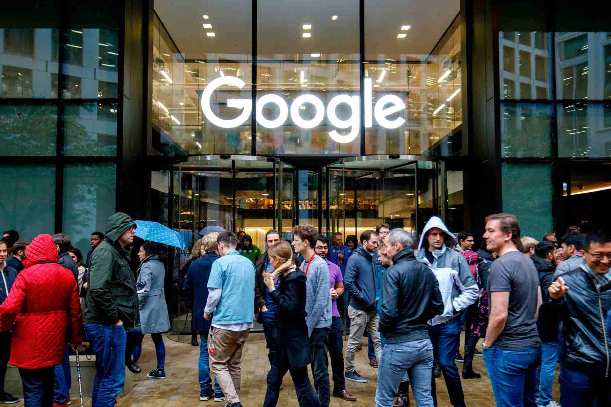 More Than 1,500 Google Workers to Stage Walkout Over Sexual Misconduct...