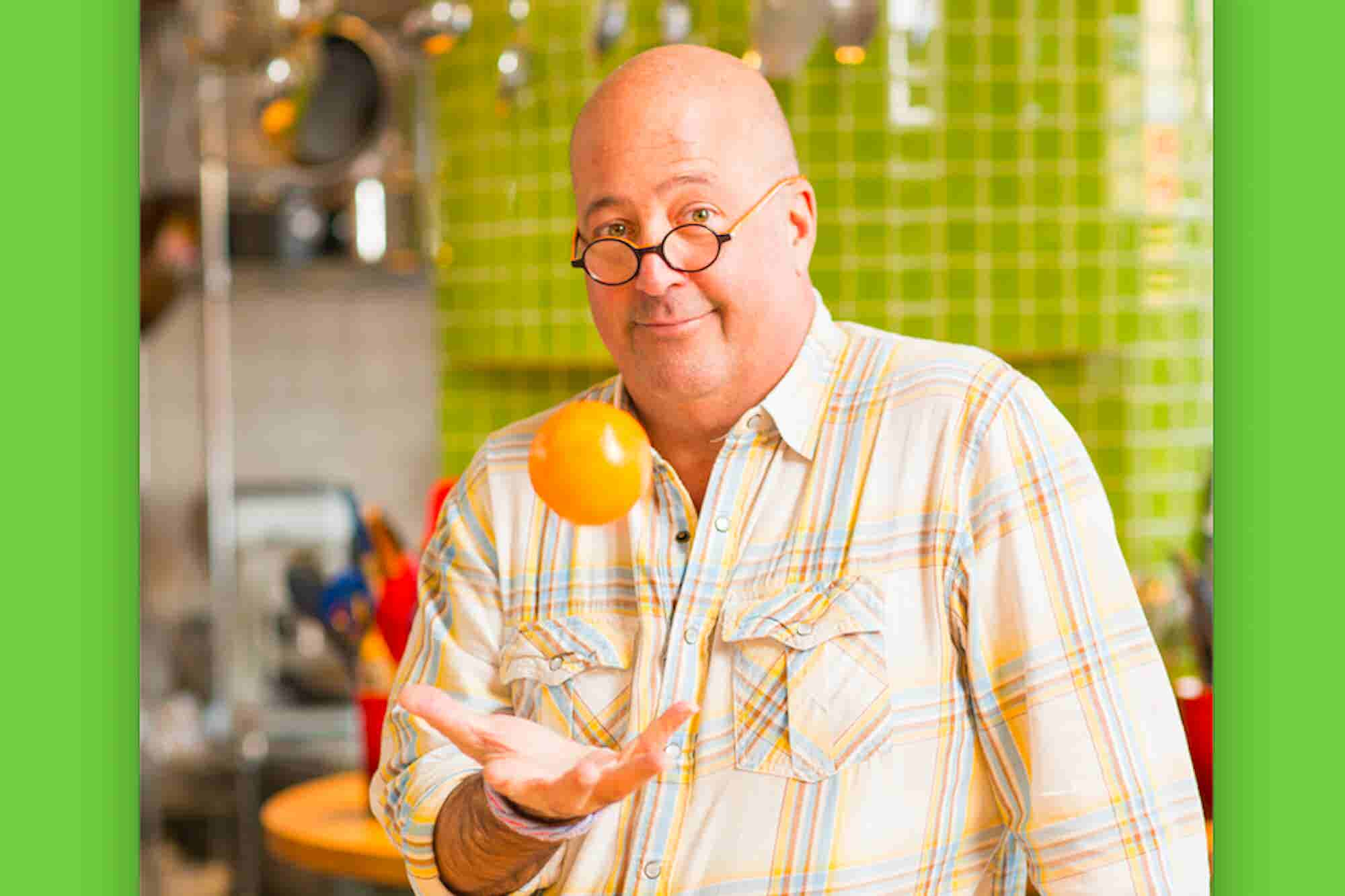 (Podcast) 'Bizarre Foods' Andrew Zimmern: 'I'm Addicted to the Hustle'