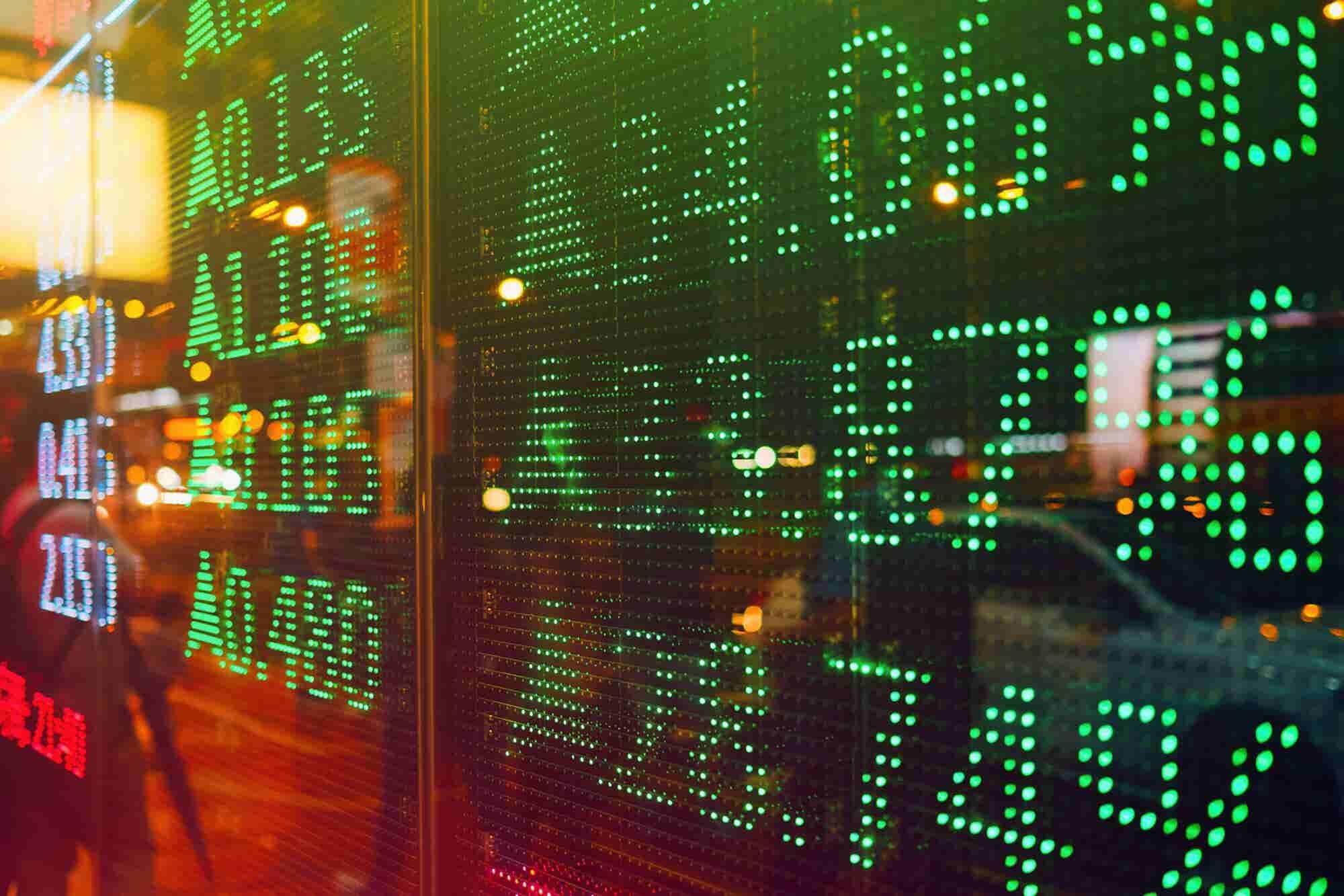 Stock Market Rebounds After October Plunge