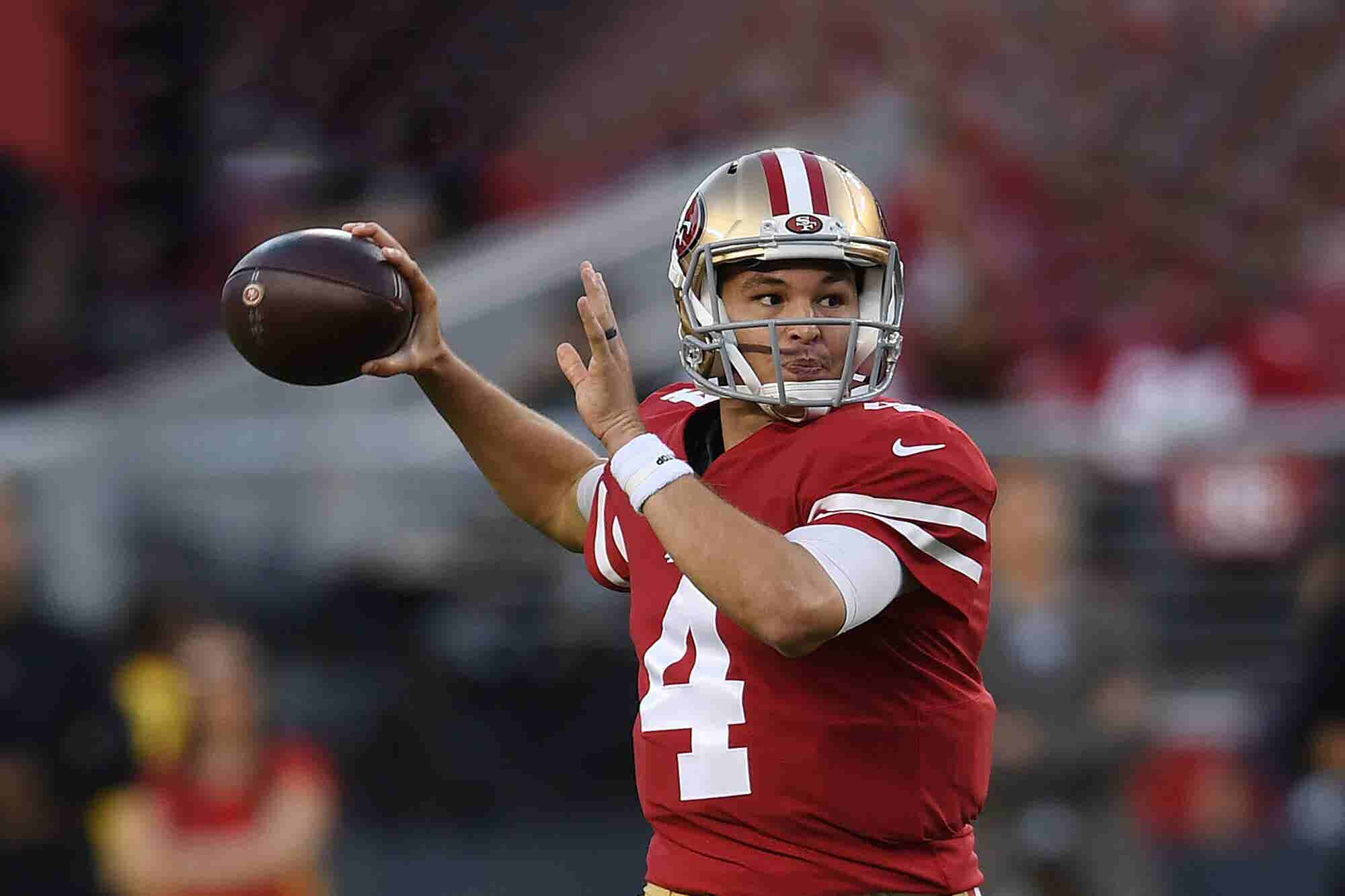Unknown 49ers QB Has Incredible Debut, Gets Twitter Verified in Middle...