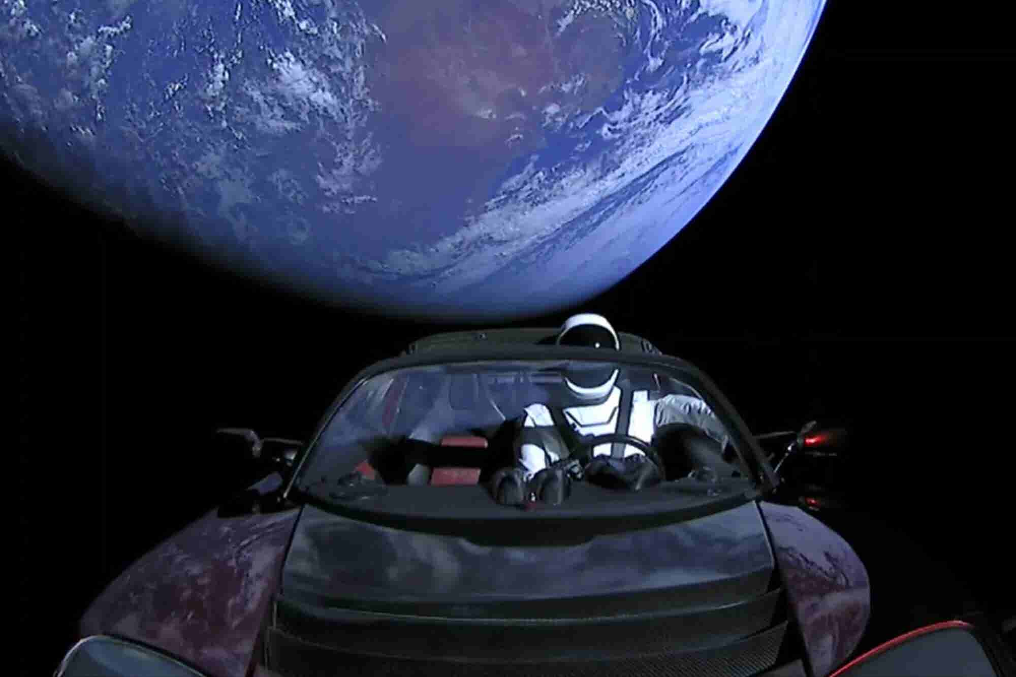 SpaceX's Starman Roadster Has Ventured Past Mars