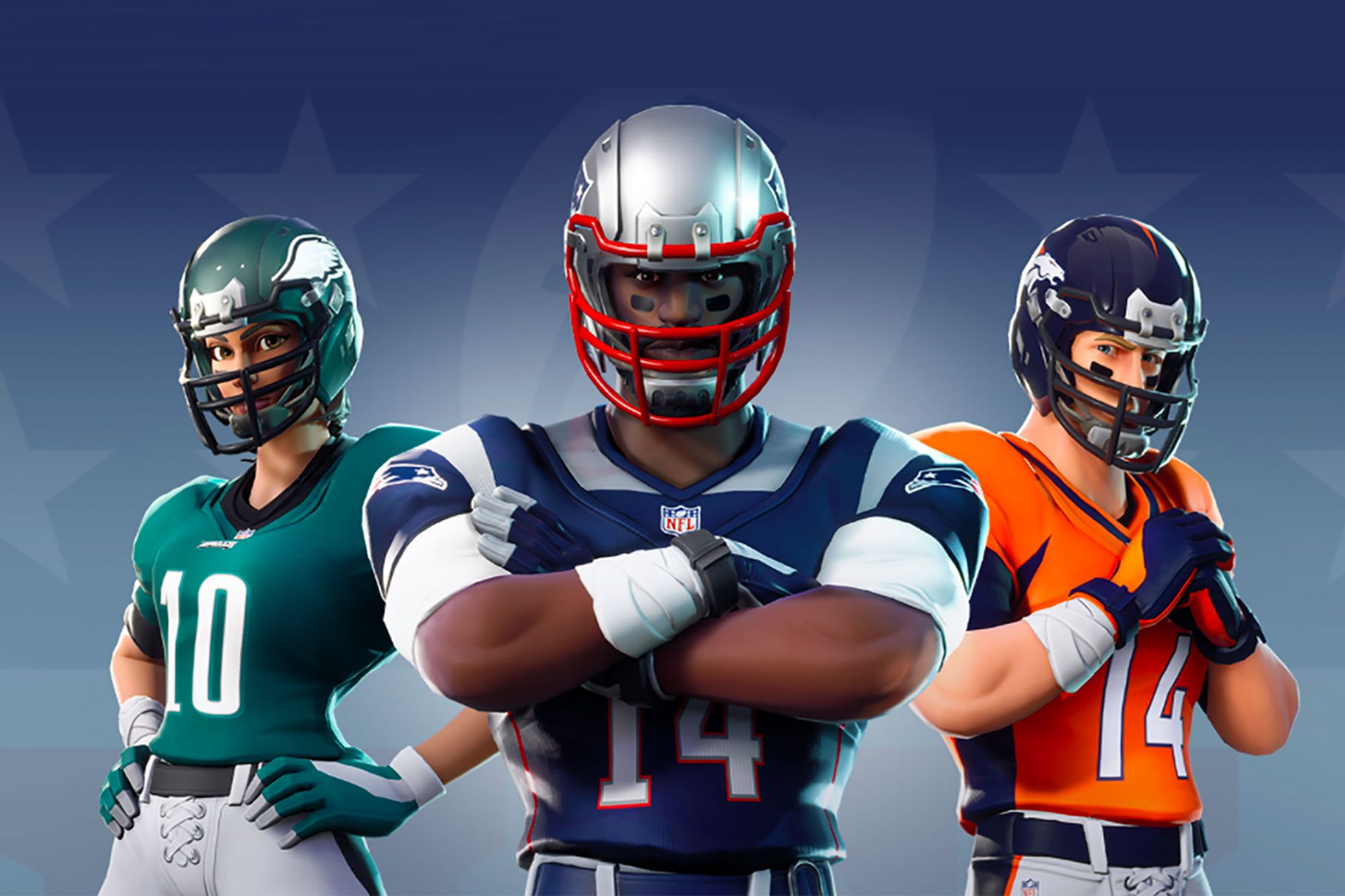2aee0949fc6 NFL Teams Up With Epic Games to Bring All 32 Team Uniforms to  Fortnite