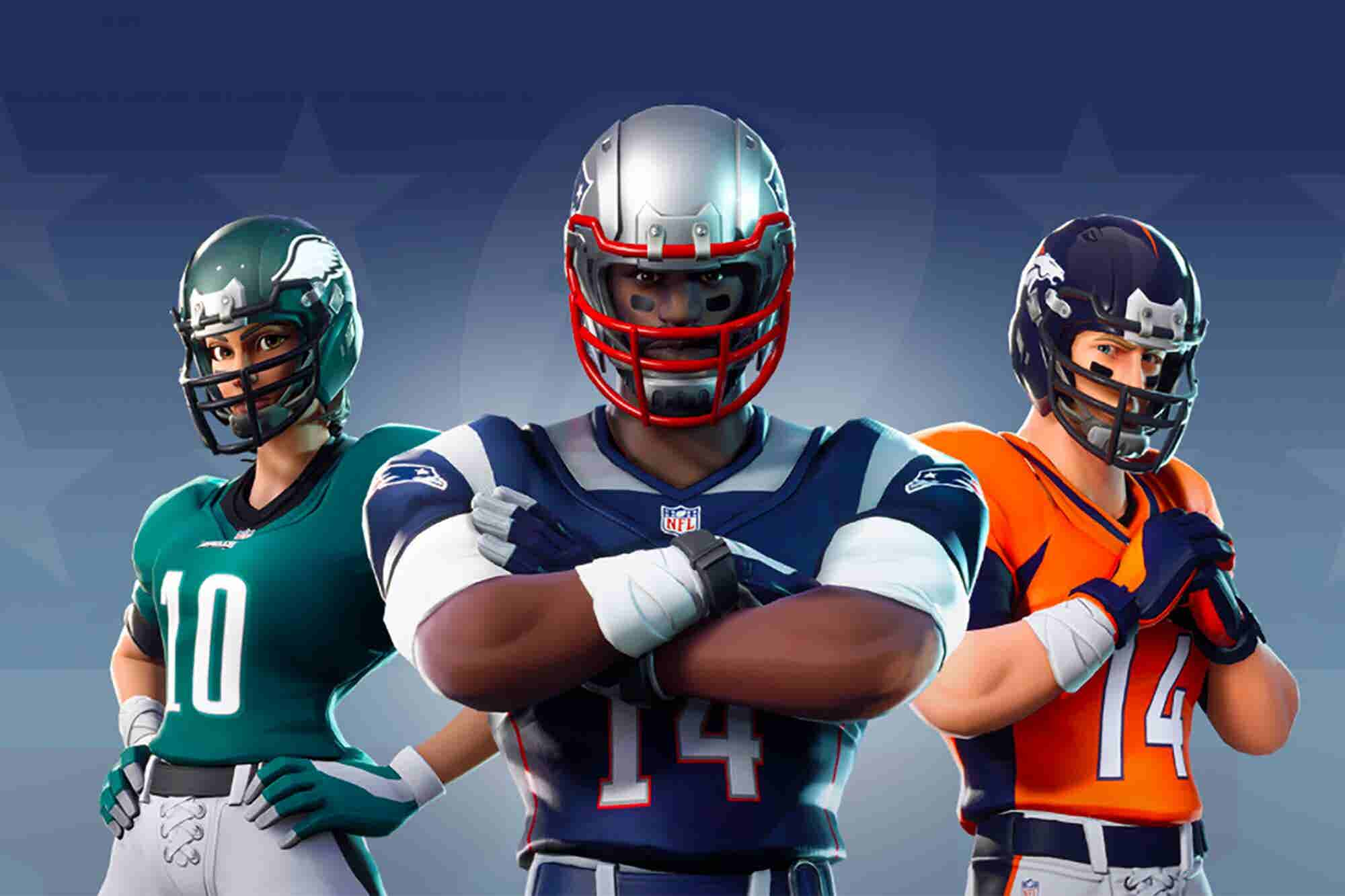 NFL Teams Up With Epic Games to Bring All 32 Team Uniforms to 'Fortnit...