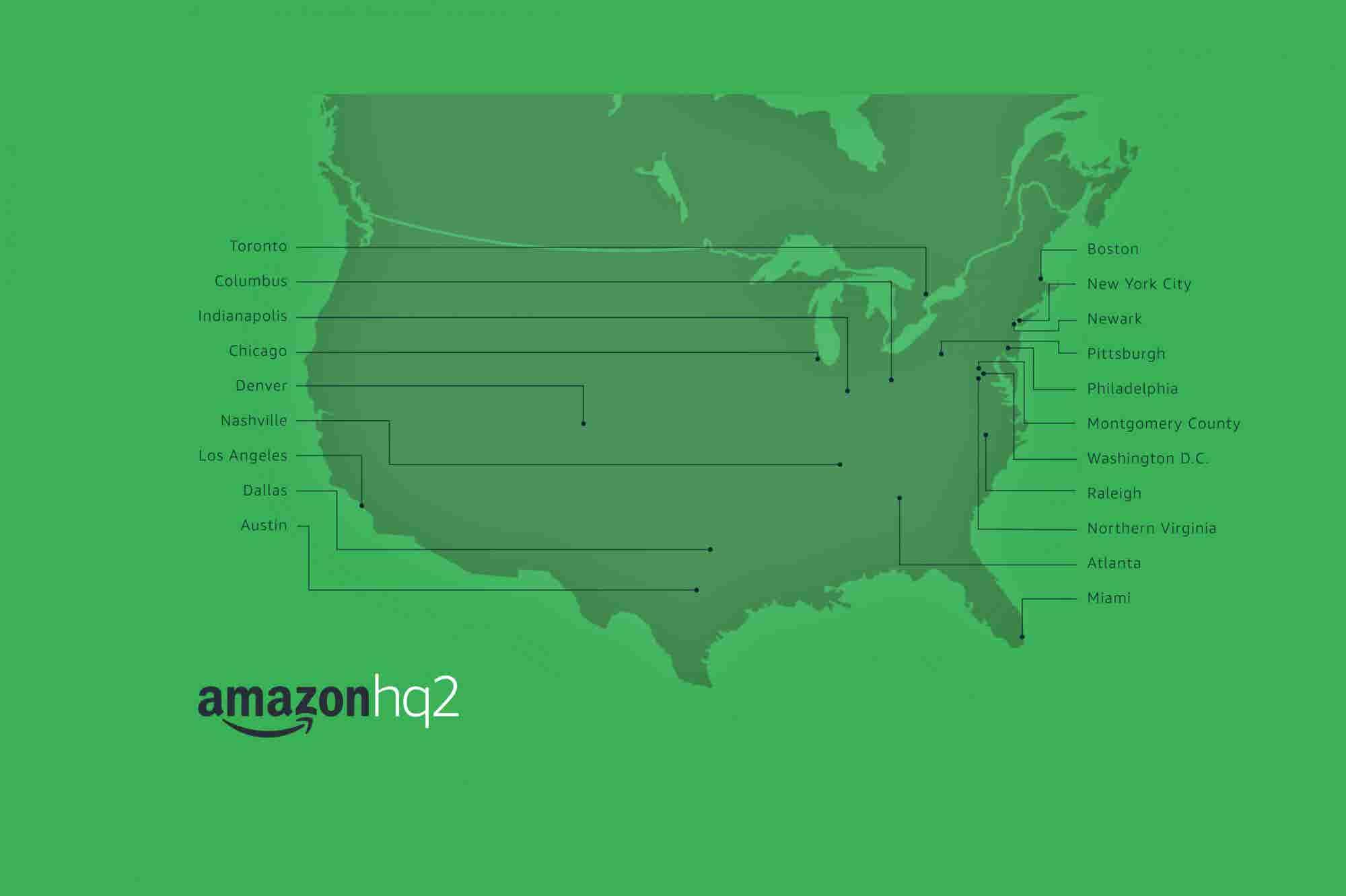 Amazon May Split HQ2 Between Crystal City, Va., and Long Island City, N.Y.