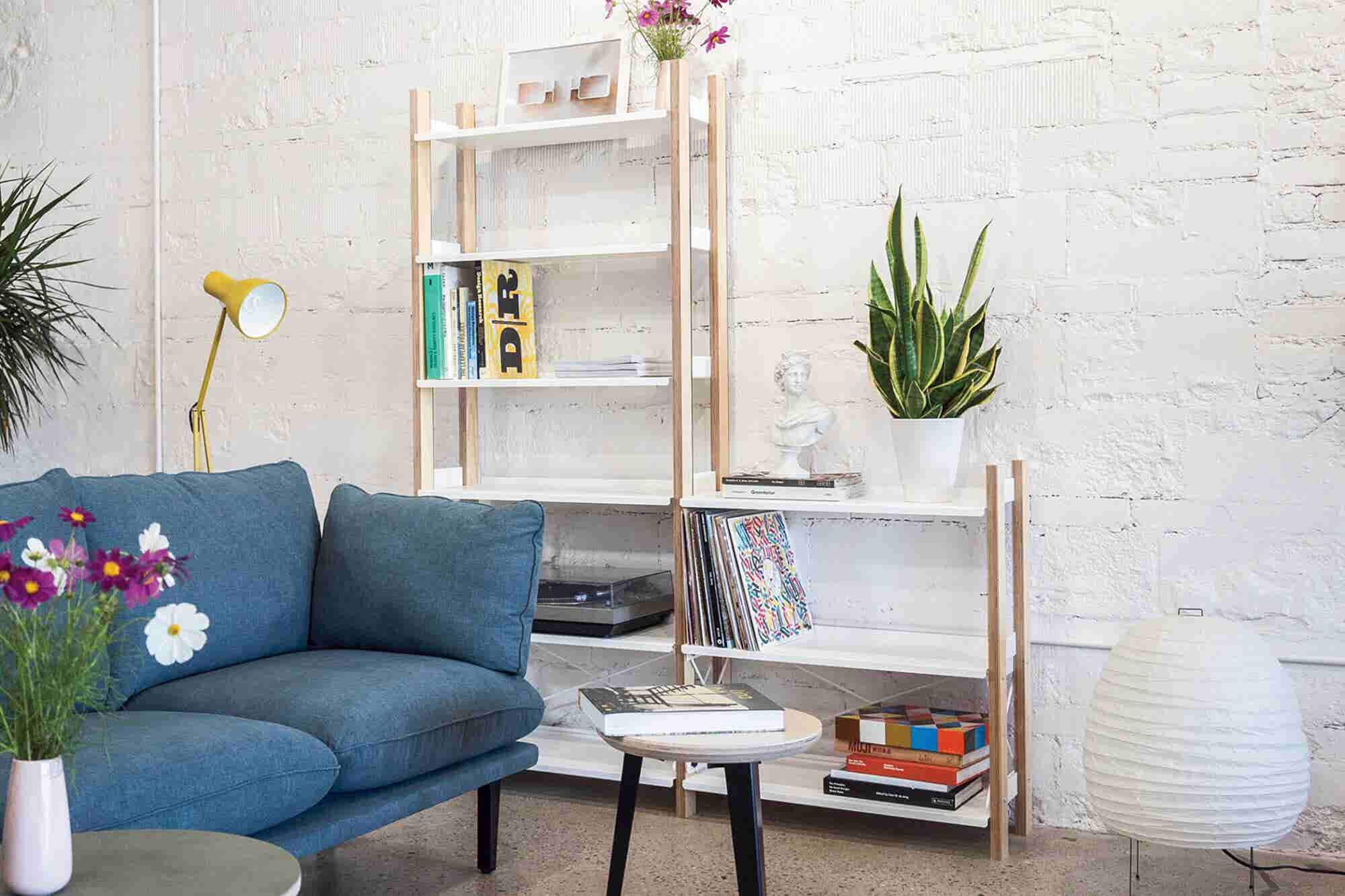 Why Floyd Obsessed Over This Detail of Its Ikea-Inspired Bookshelf