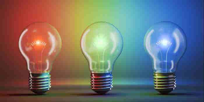 Cómo usar luces de colores para trabajar mejor