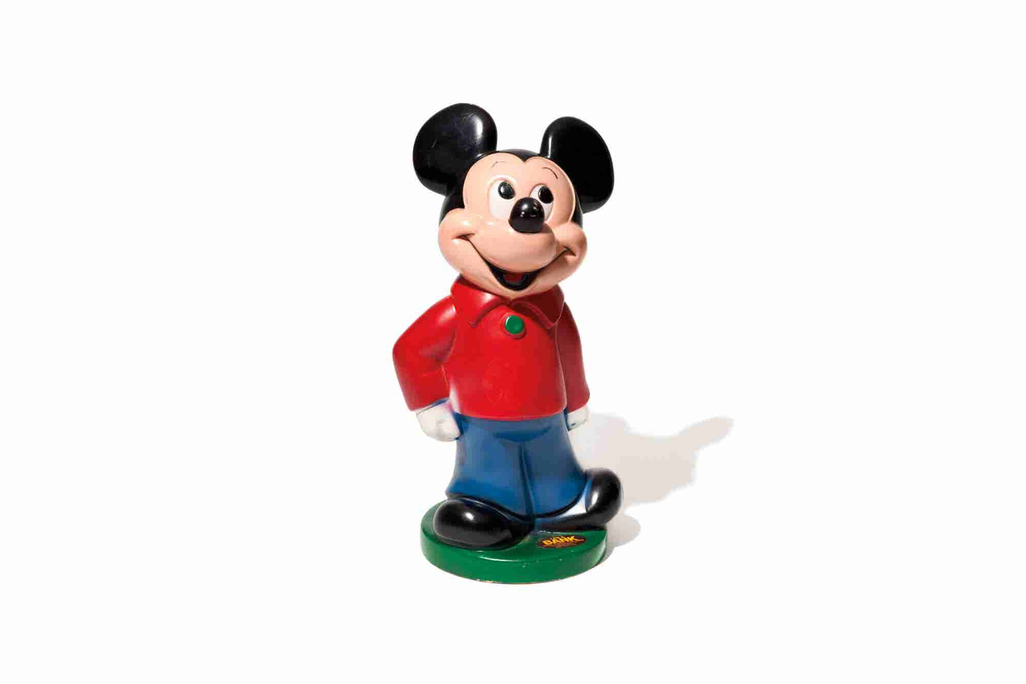 This Mickey Mouse Piggy Bank Reminds This Entrepreneur to Hustle Hard,...