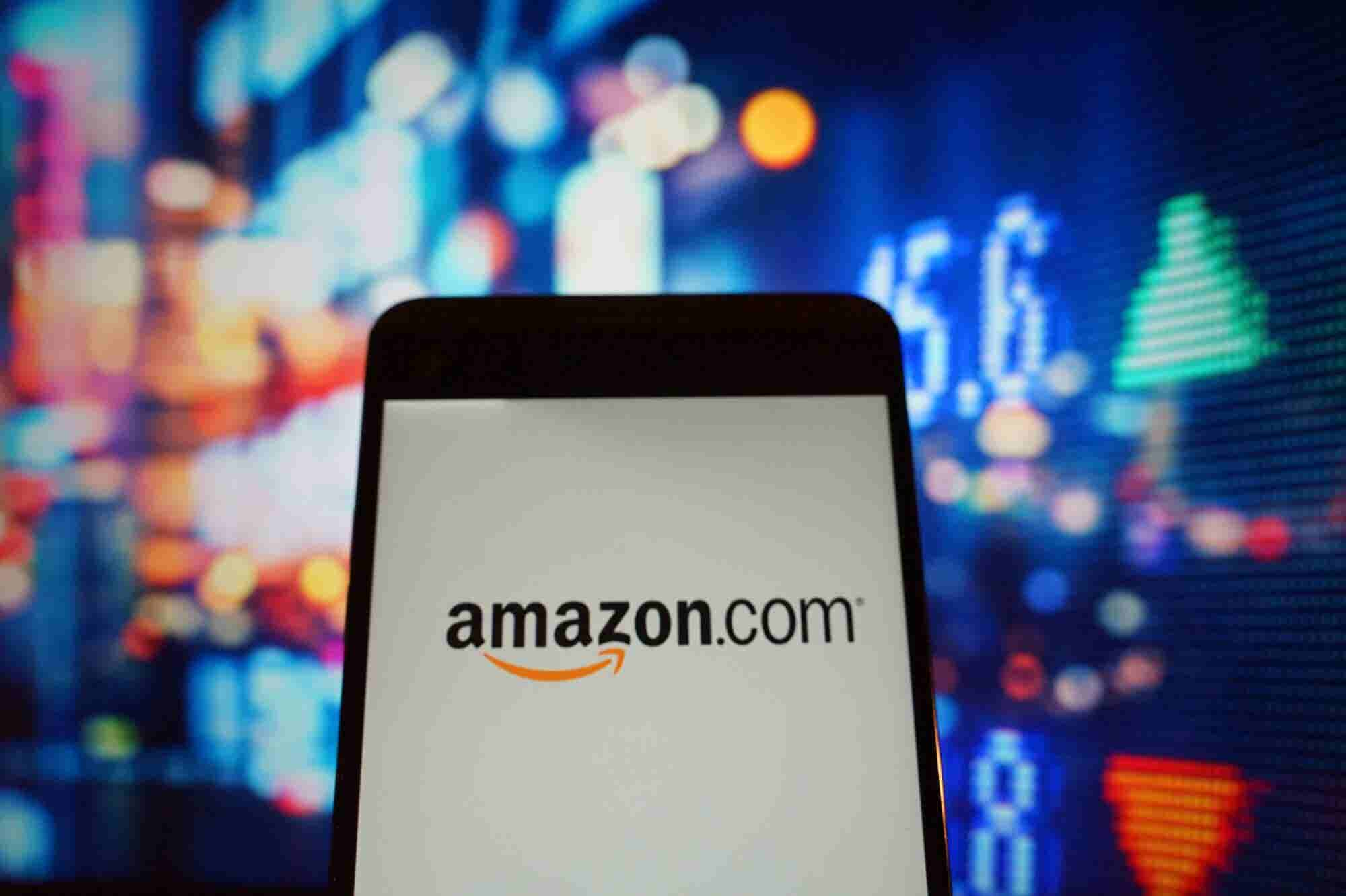 Amazon Was the Biggest Winner on the Entrepreneur Index™ Today