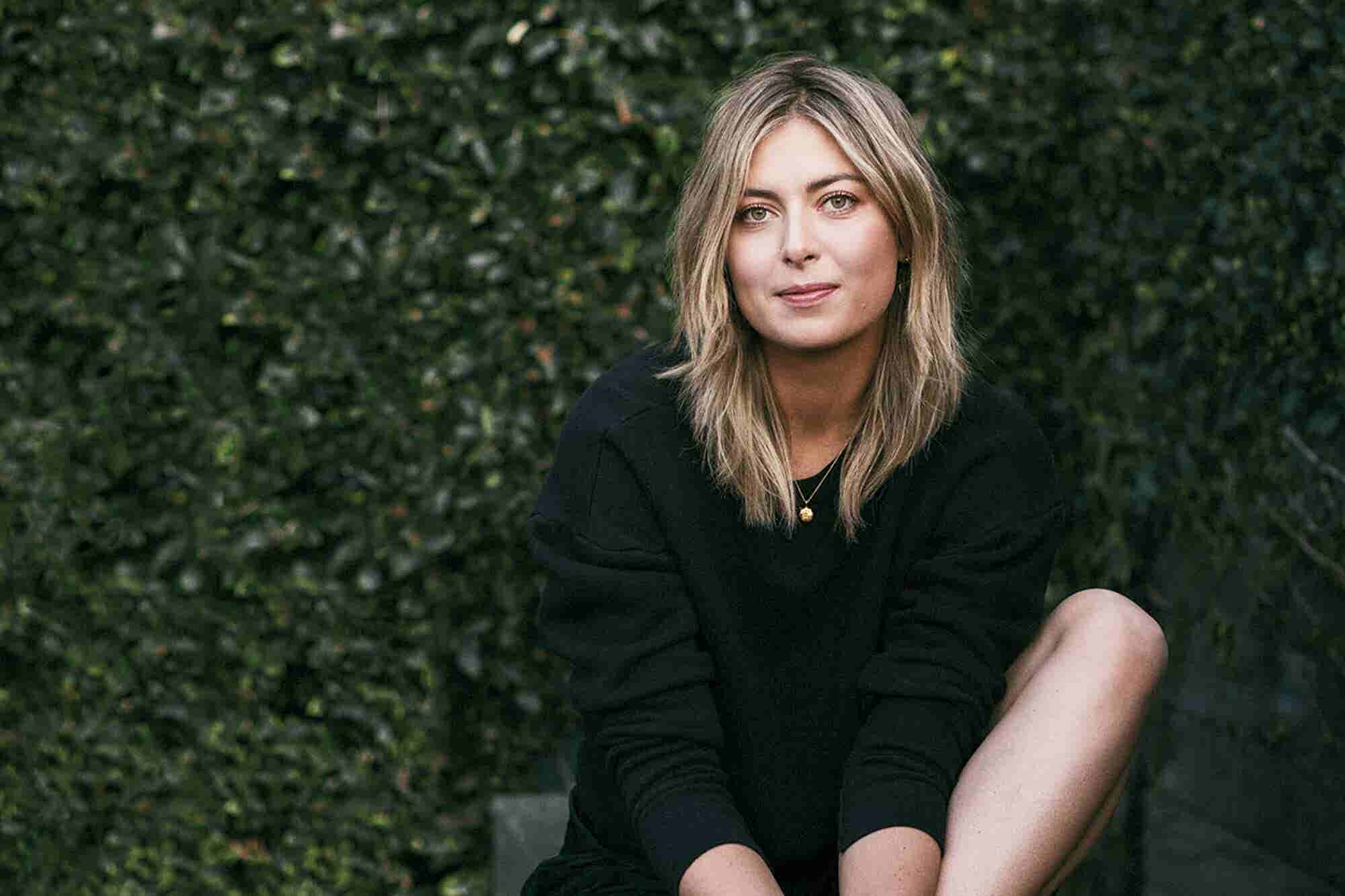 Maria Sharapova Built a Business Empire Thanks to Her Winning Team