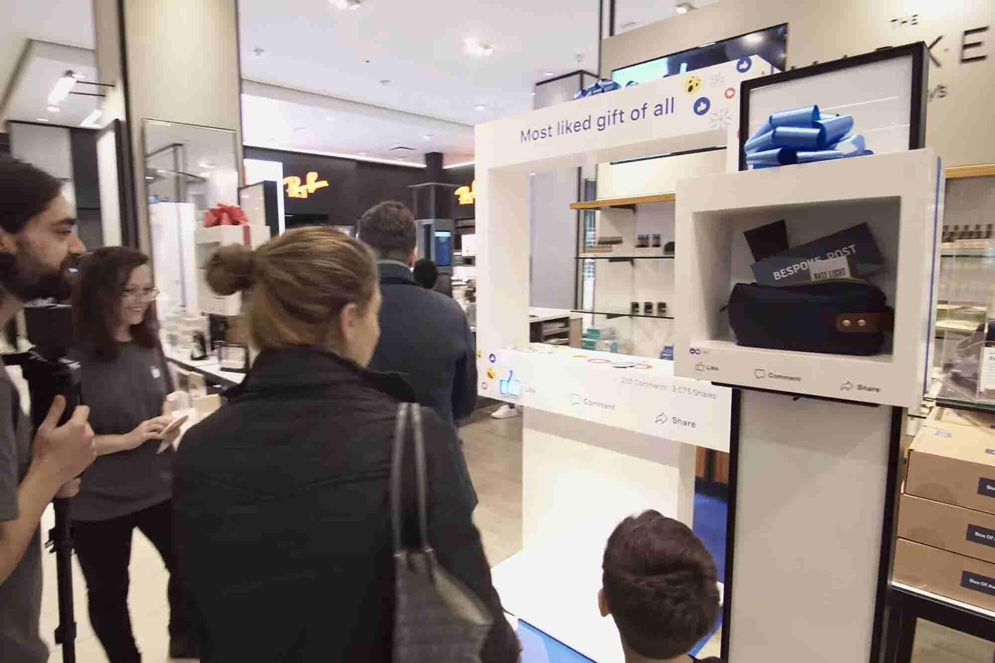 Facebook Opens Its First Pop-up Shop Inside Macy's
