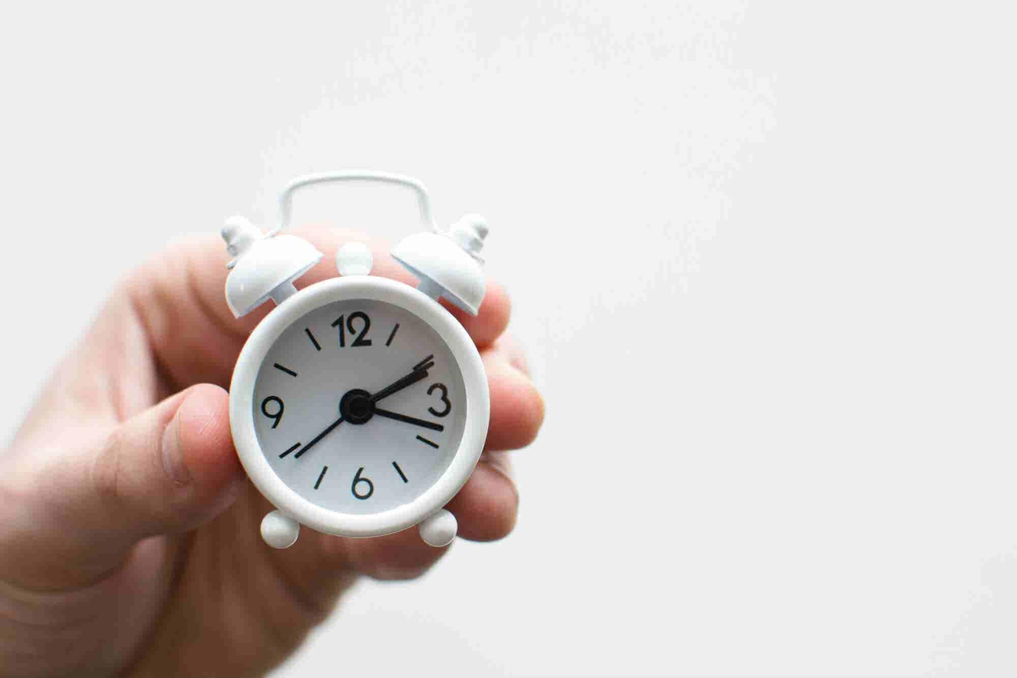 Esta es la hora del día en la que eres más productivo