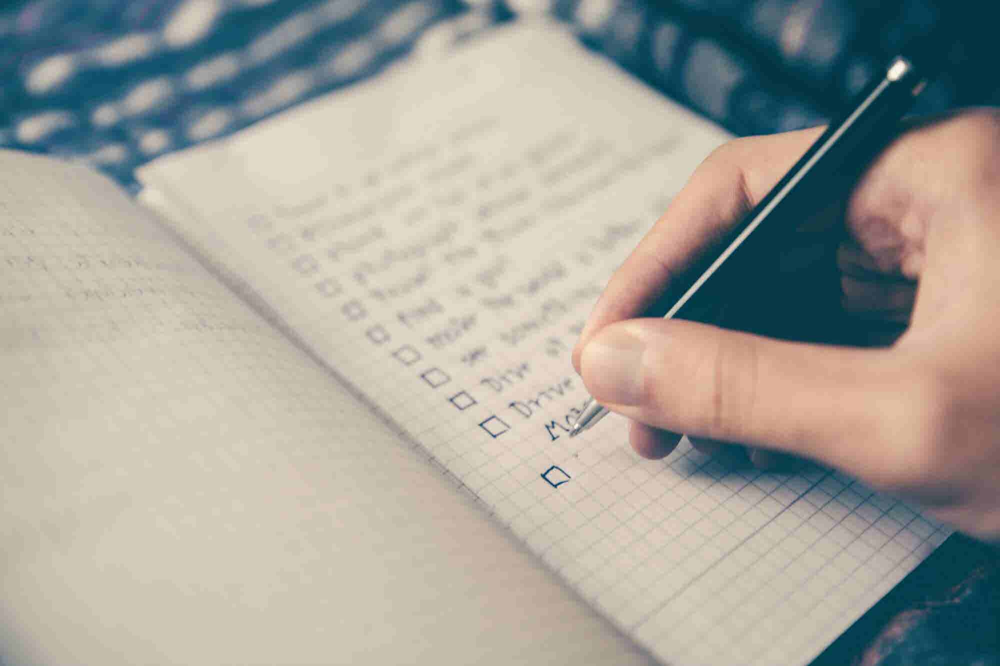 ¿Quieres ser triunfador? Estas son las 3 listas que tienes que hacer para lograrlo
