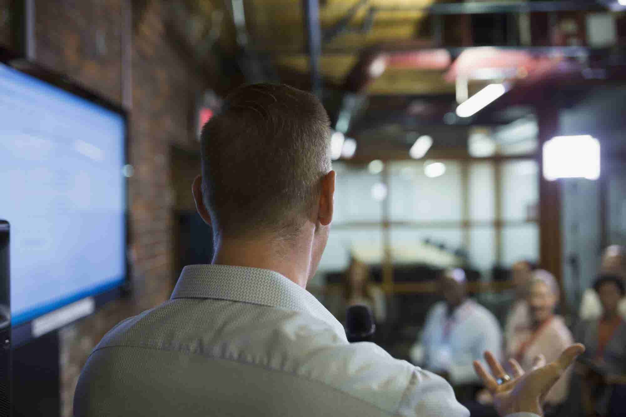 Wringing the Fear out of Public Speaking