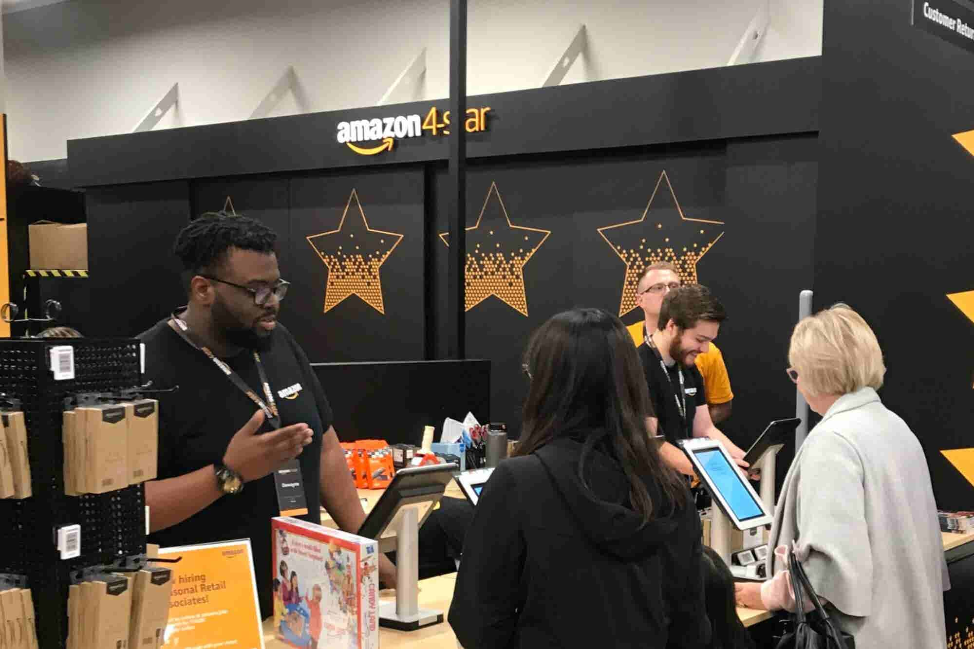 Check Out the New Amazon 4-star Stores -- And Get 4 Tips for Any Business