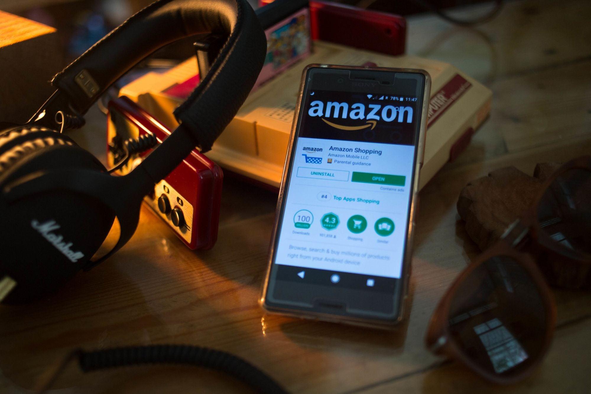 Tech Giants Alphabet Inc. and Amazon.com Both Up Over $20 Per Share