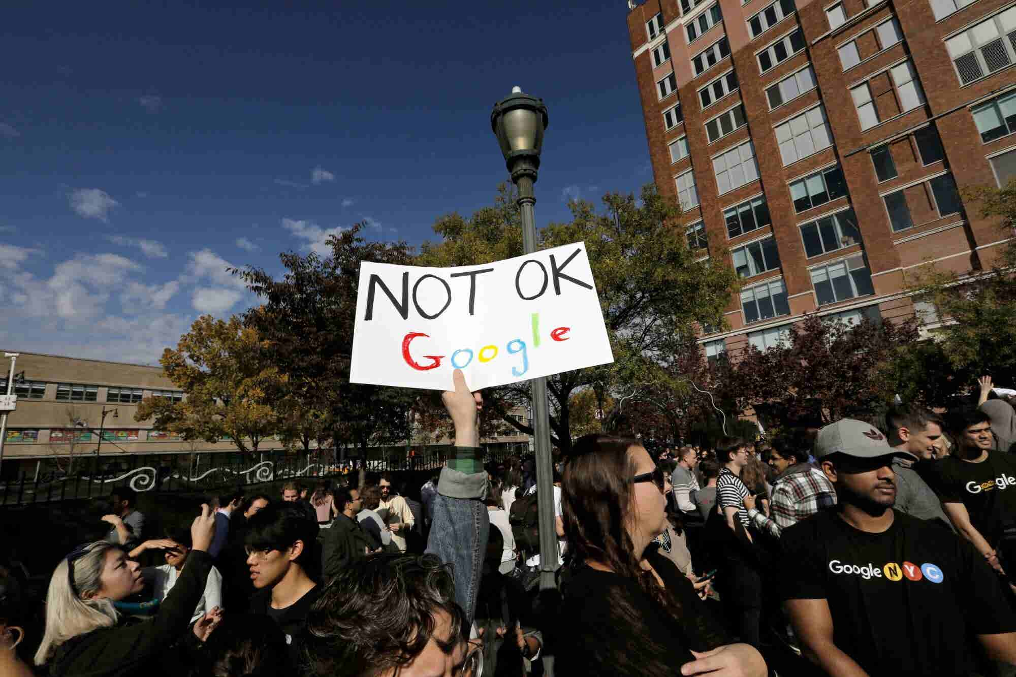 Could the Walkout Have Been a Positive Sign for Google's Employee Engagement?