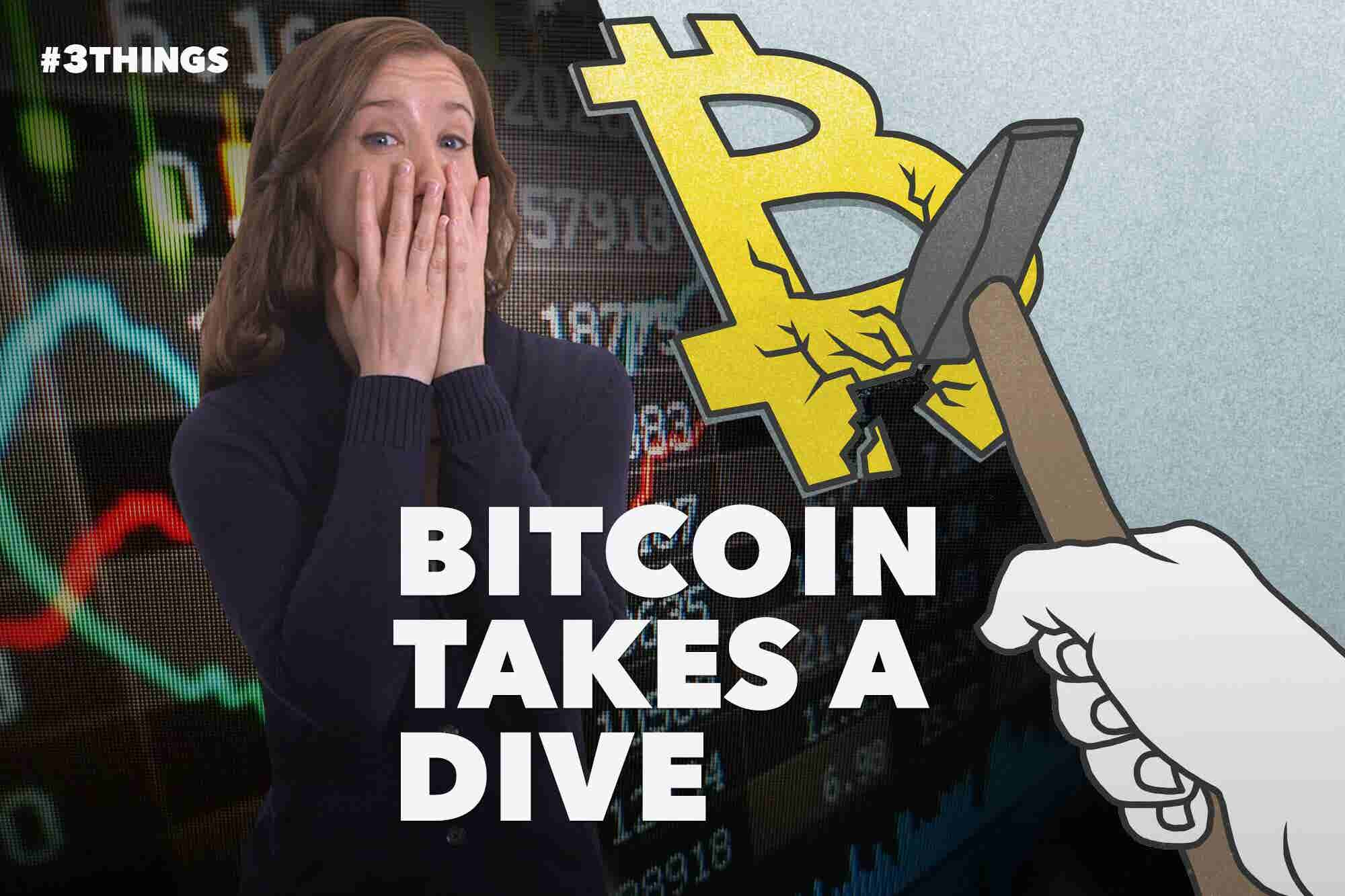60-Second Video: Bitcoin Crashes, Selfishness Doesn't Pay and NASA to...