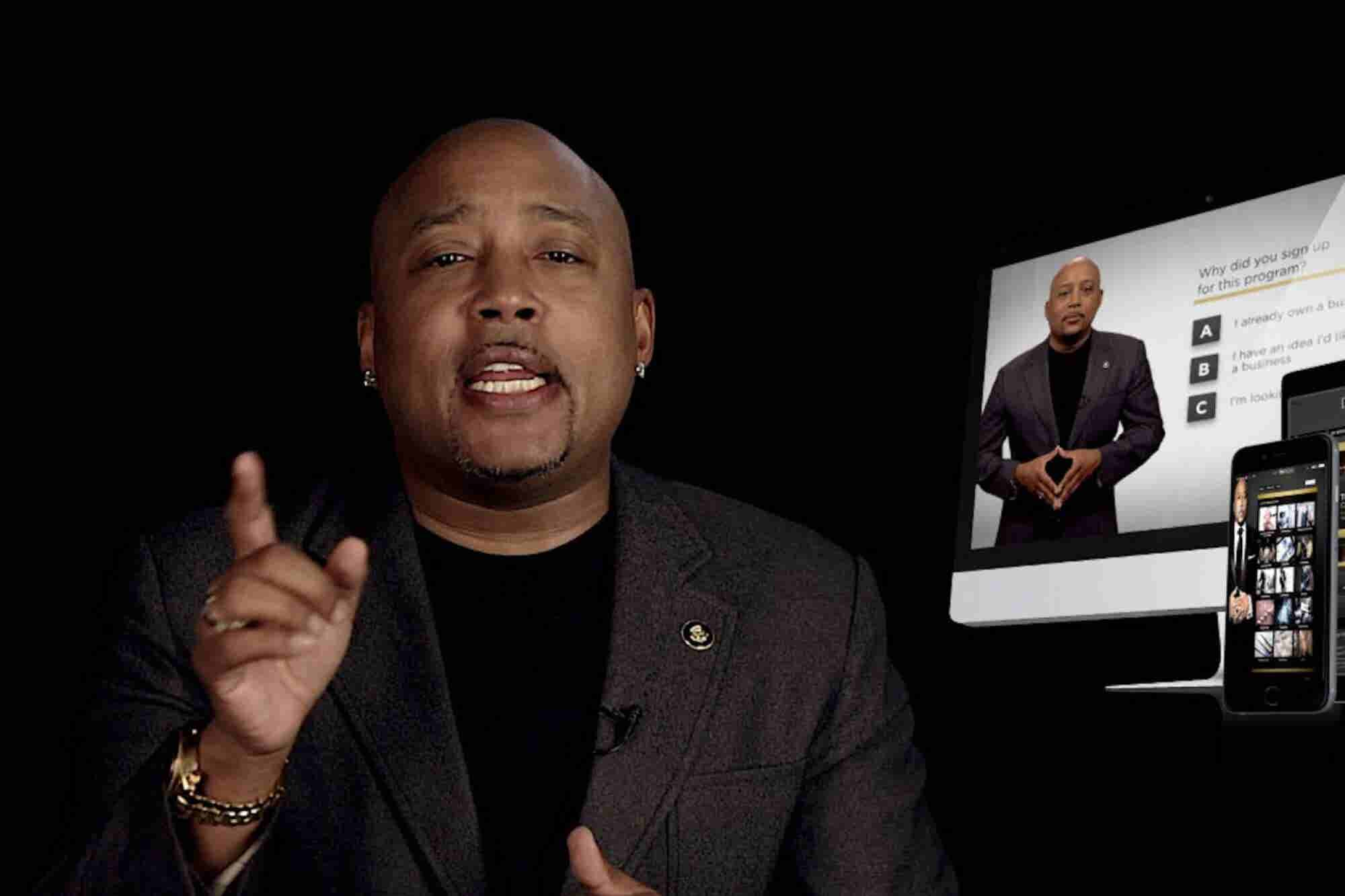 Daymond John Wants You to Smarten Up: 'Money Doesn't Solve Problems, I...