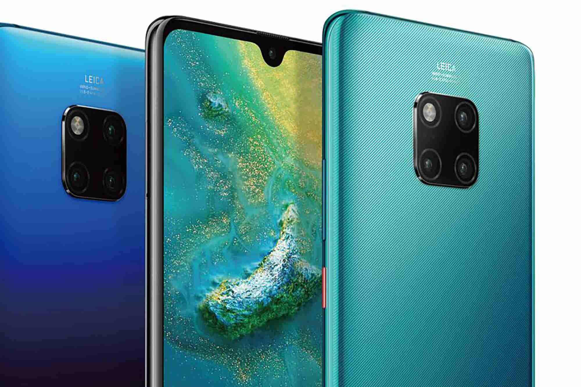 Triple Threat: Huawei Mate 20 Pro