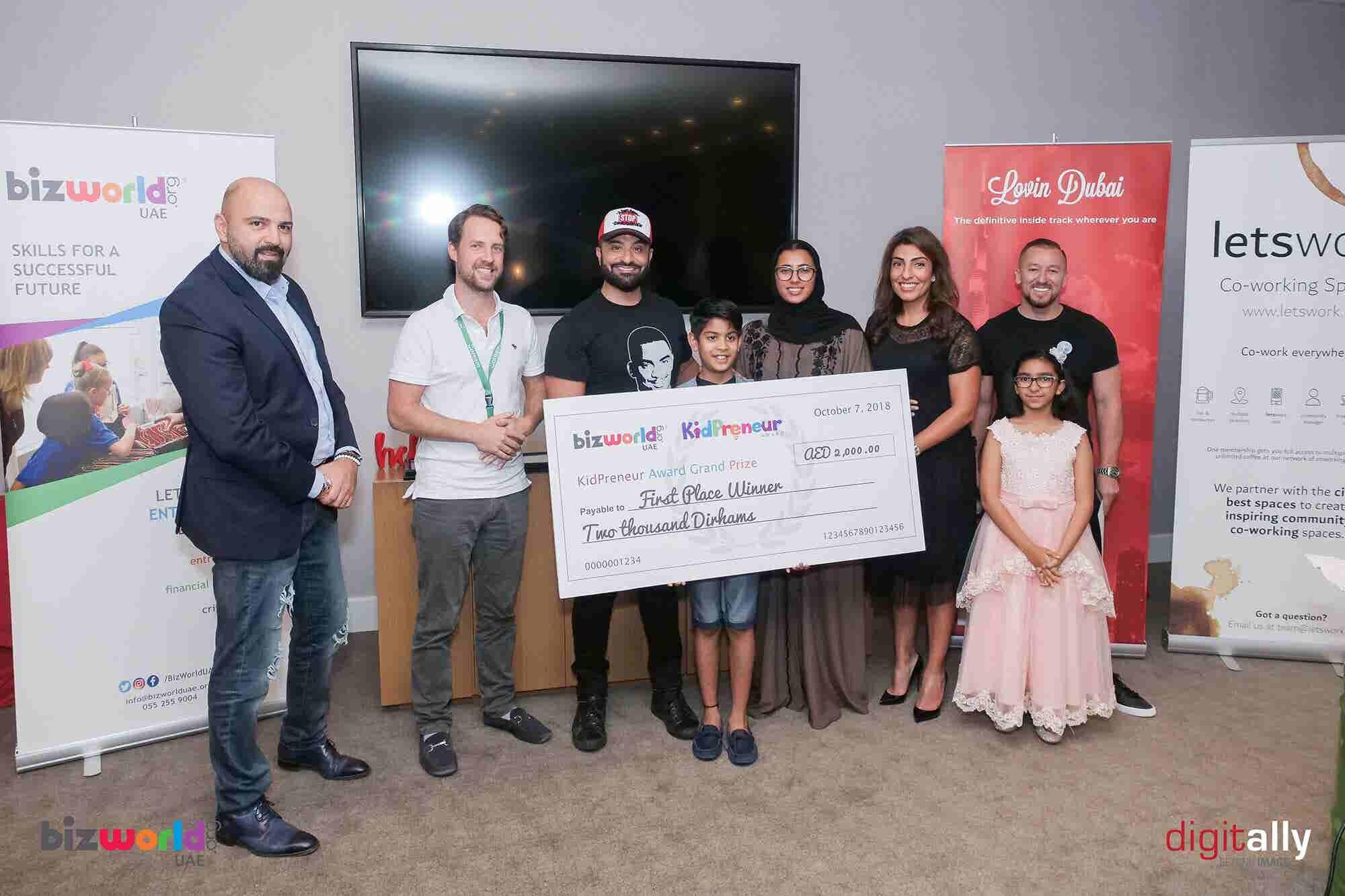Entrepreneurship Has No Minimum Age: Lessons From BizWorld UAE's The Kidpreneur Award 2018