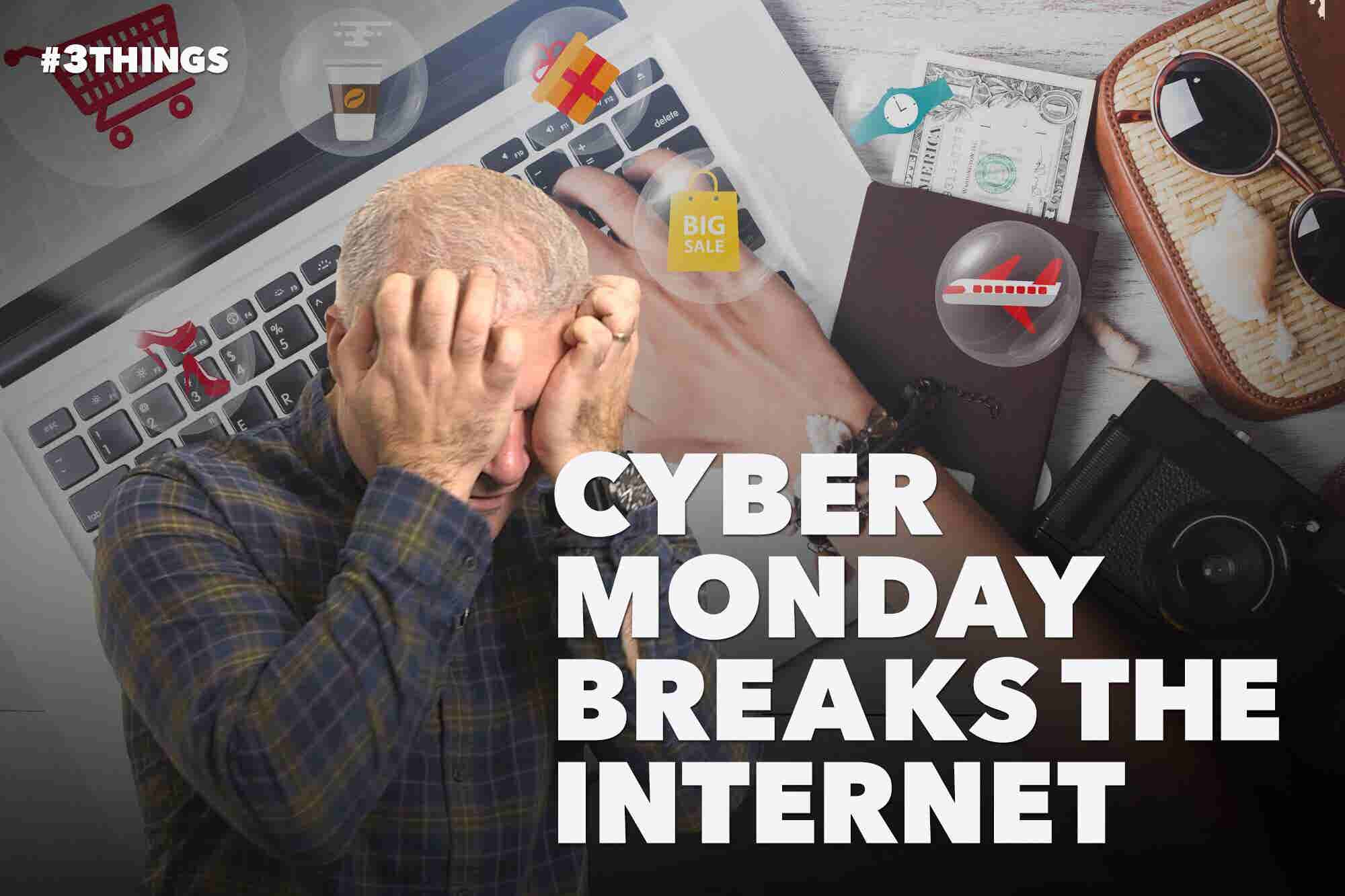 Cyber Monday Breaks the Internet (60-Second Video)