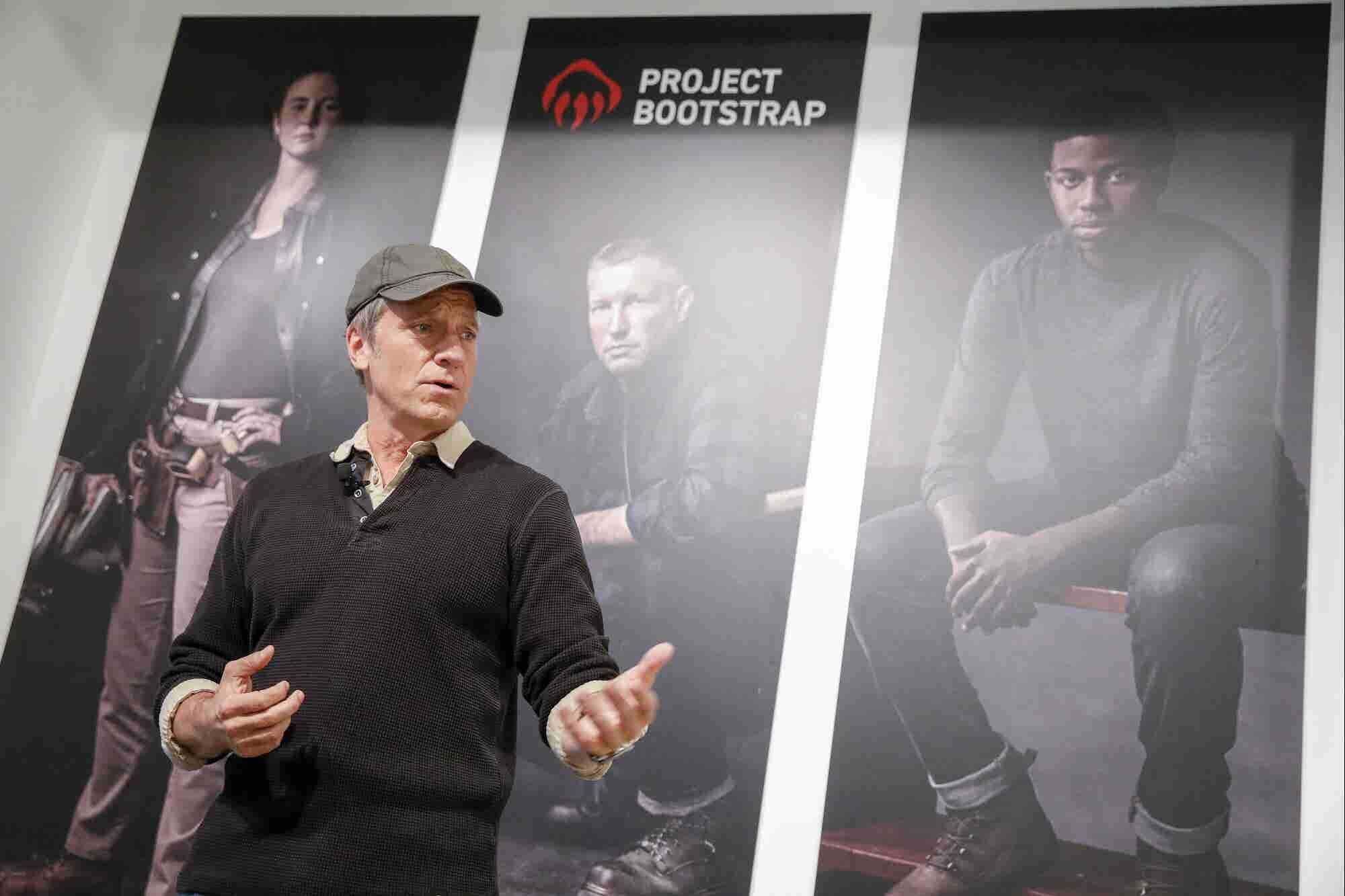 Mike Rowe Just Made the Ultimate Pitch for Blue Collar Entrepreneurs: 'I Am Addicted to Indoor Plumbing'
