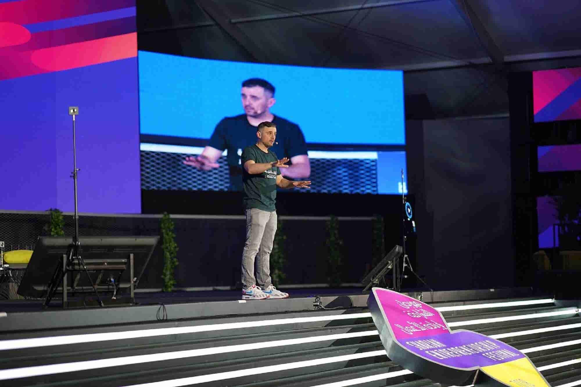 Gary Vaynerchuck Shares His Tips For Entrepreneurs At Sharjah Entrepre...