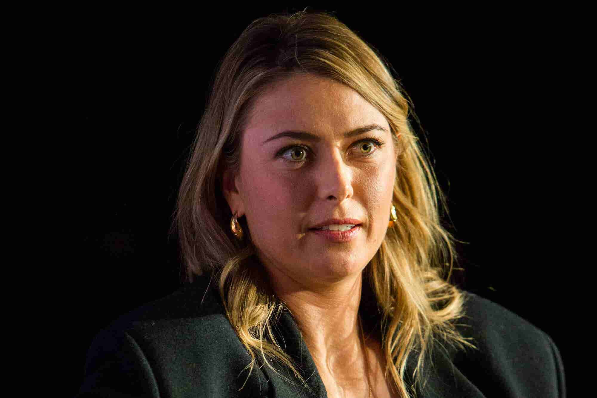 Maria Sharapova on Building Her Brand and Businesses