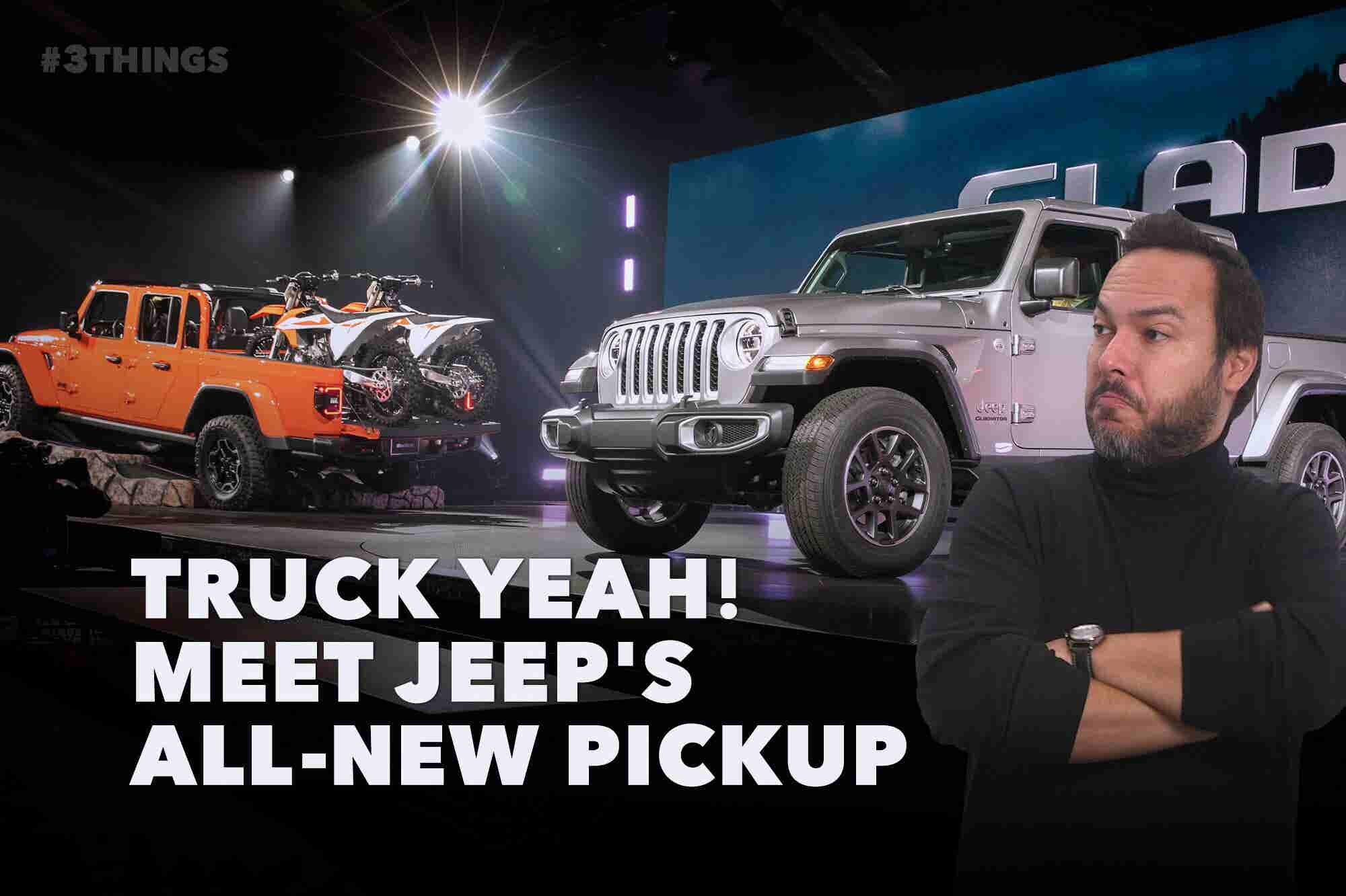 Jeep Drops a Pickup, Microsoft Tops Apple, and Alexa Is All About That...