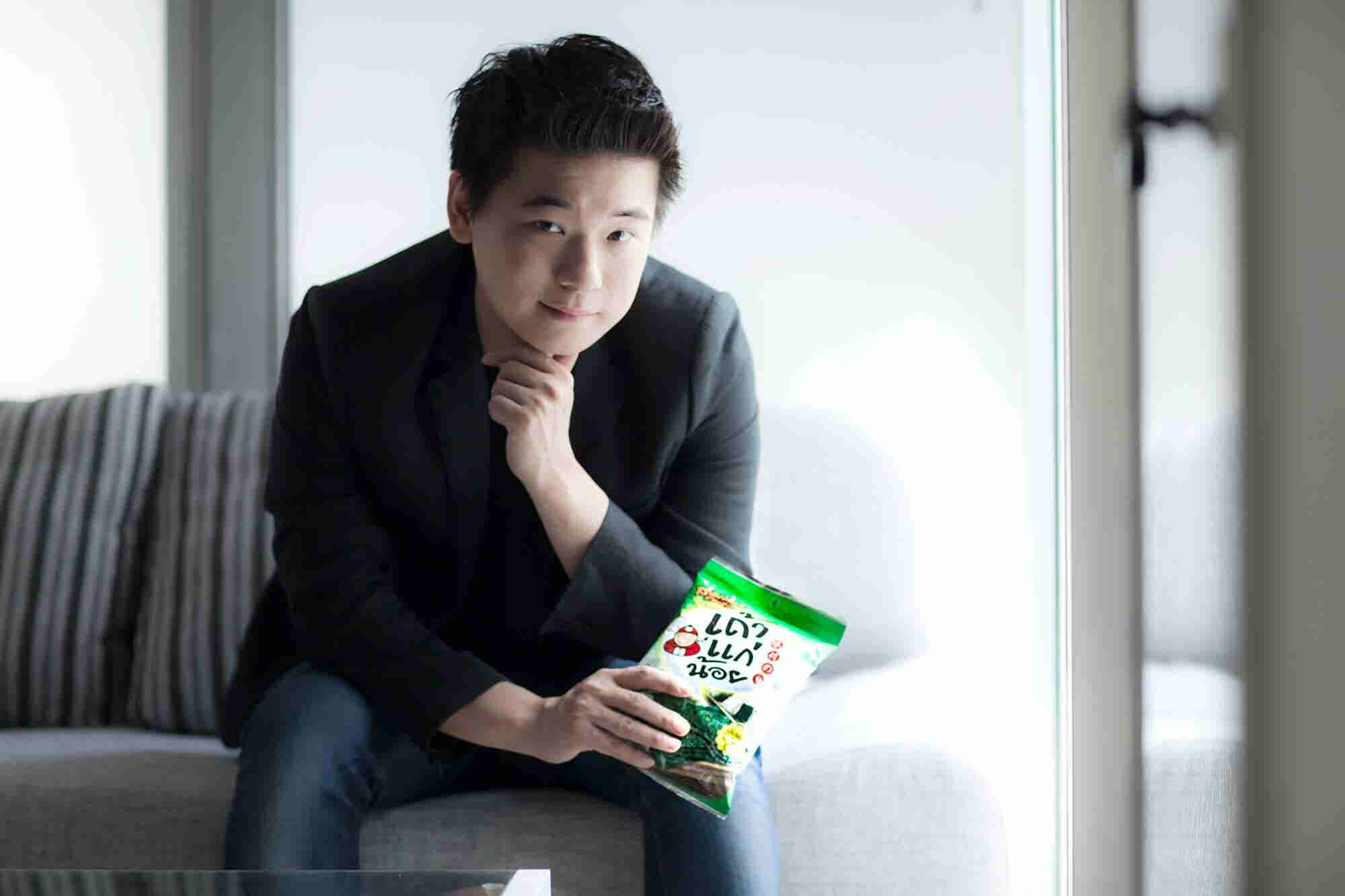 (Podcast) He Started His Business at 19. Now, He's Worth $600 Million With a Global Seaweed Snack Empire.