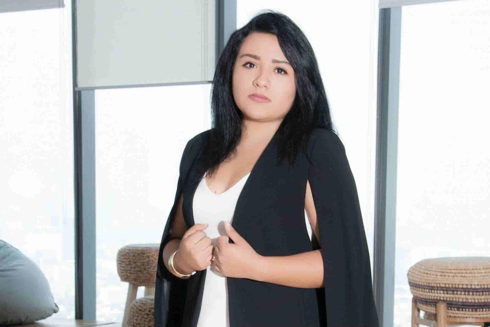 Con 23 años, ella quiere formalizar los negocios mexicanos