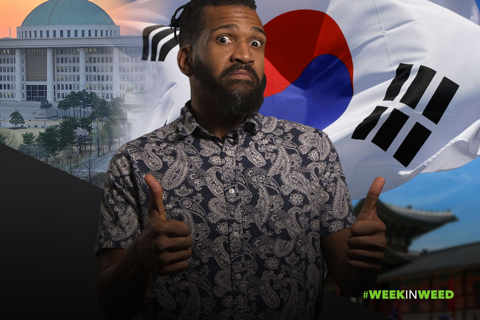 This Week in Weed: South Korea Legalizes Medical Pot! – Web