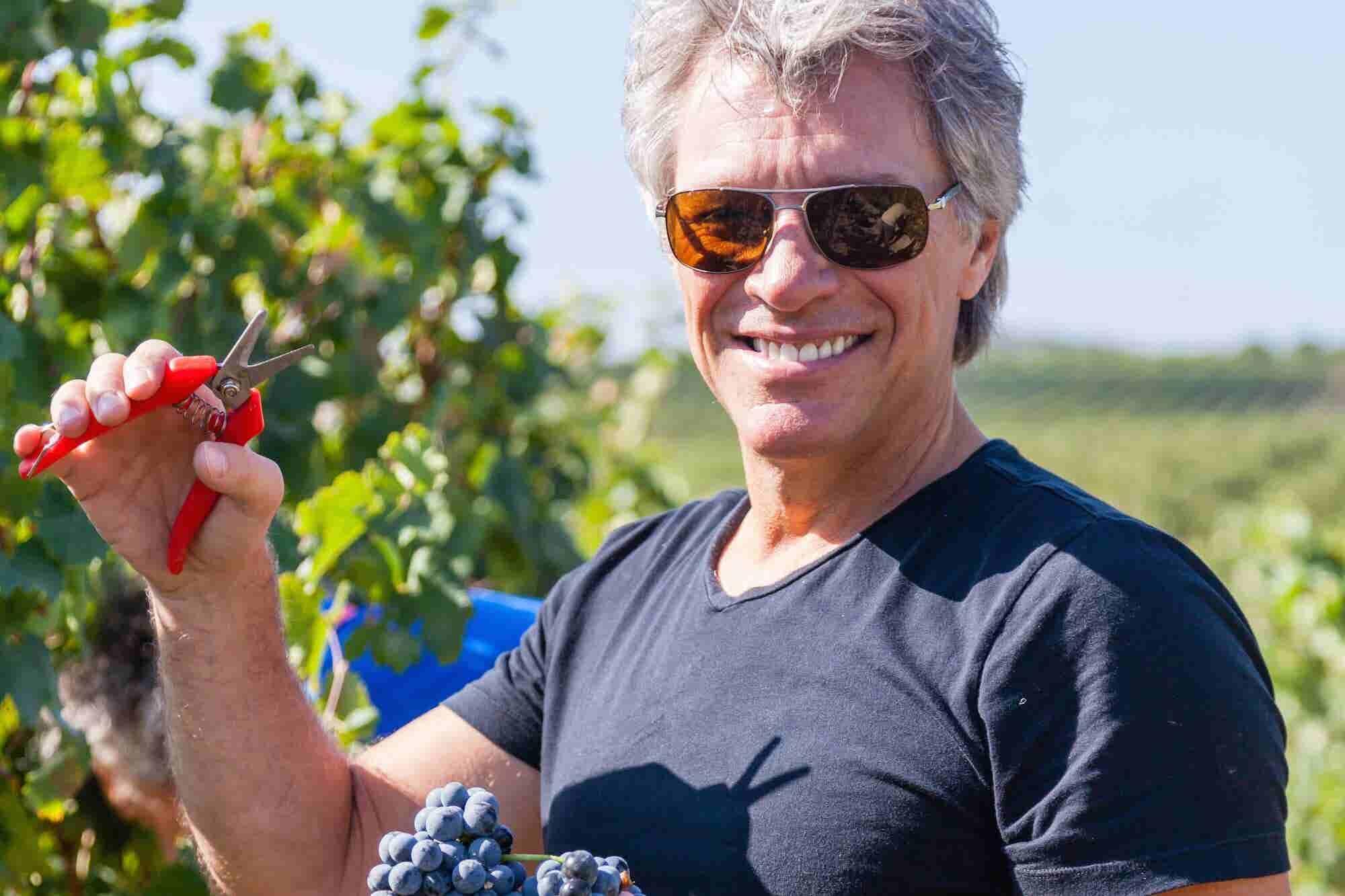 From Rock God to Master Rosé Winemaker: a Conversation With Jon Bon Jovi