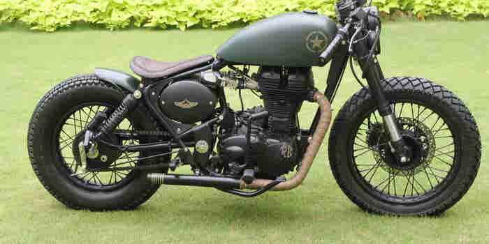 A Rajputana Touch to Bike Customization