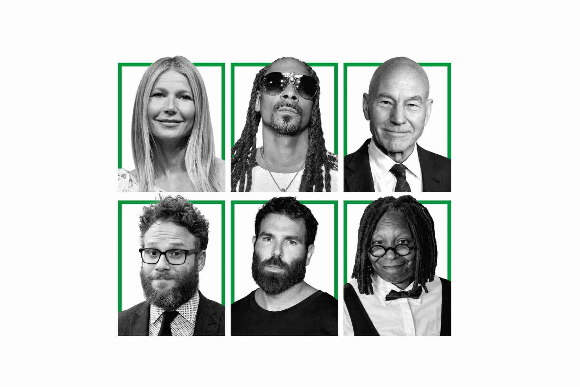 23 Celebrities in the Cannabiz