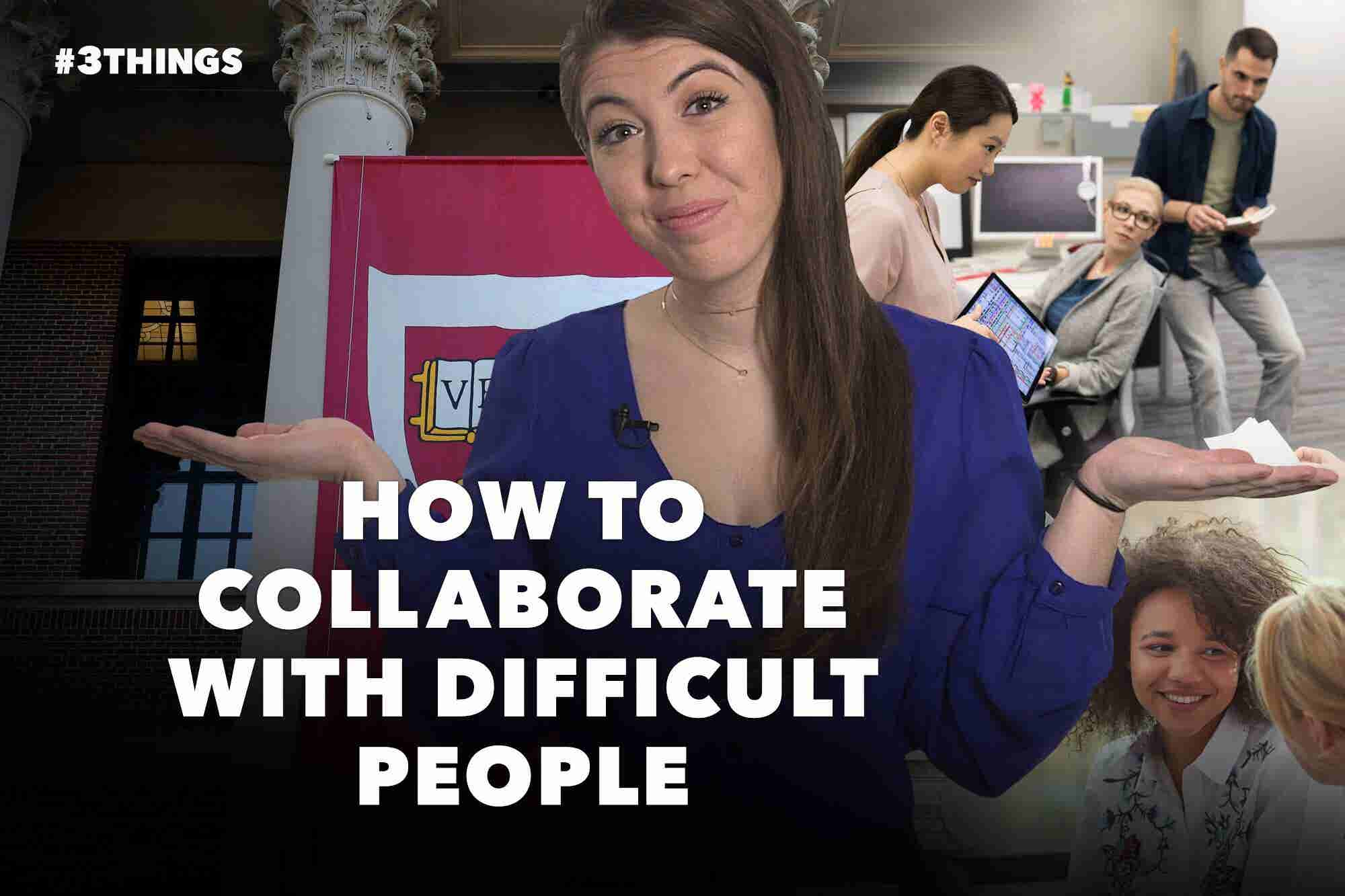 How to Collaborate With Difficult People and New York City Rideshare App Drivers Get a Raise (60-Second Video)