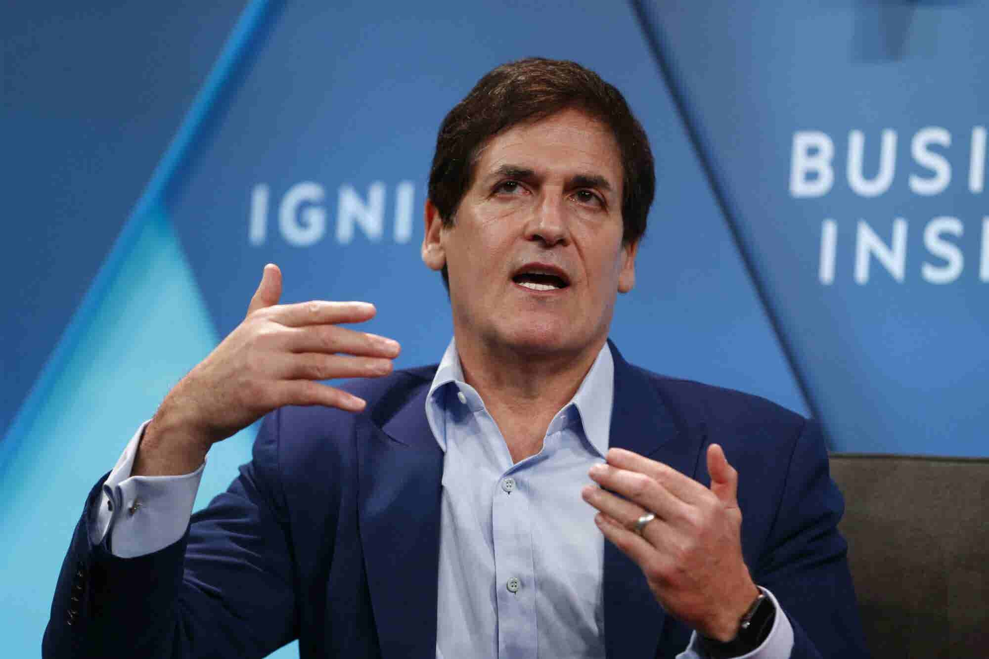 Mark Cuban Said Running for President Would be the 'Definition of Bad Parenting' But He Might Go for It Anyway