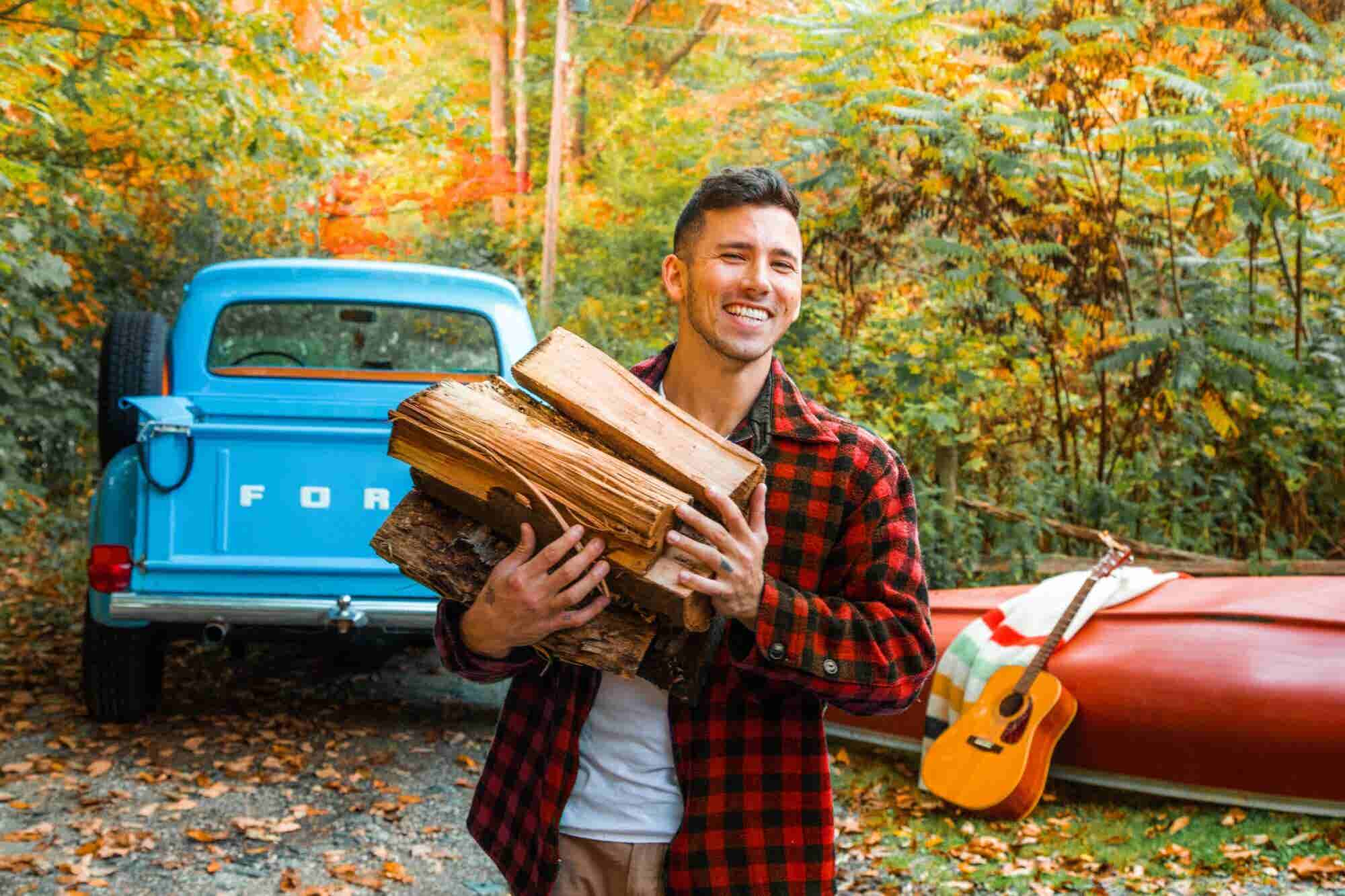 This Instagram Photographer Snaps Gorgeous Photos of Cozy Cabins and Fall Foliage. He Also Charges $5,000 Per Post.