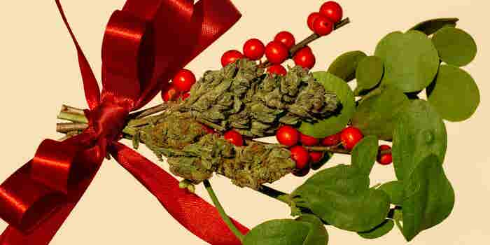 Holiday Gift? Forget the Jewelry or SmartTV. Instead, Give the Gift of Cannabis.