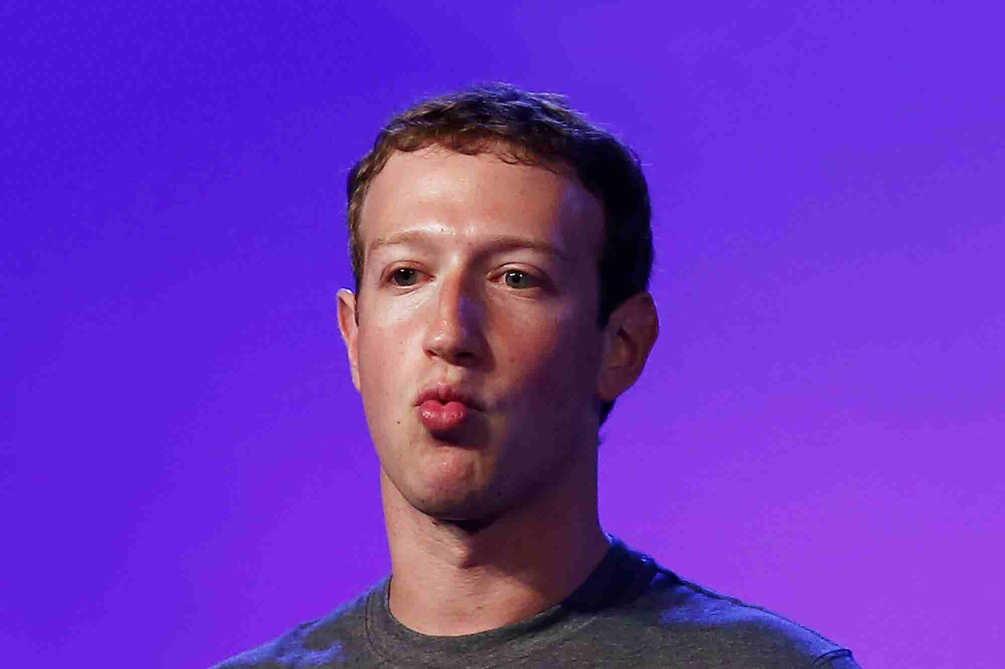 The Facebook Papers Are a Timely Reminder That Mark Zuckerberg Is Tota...