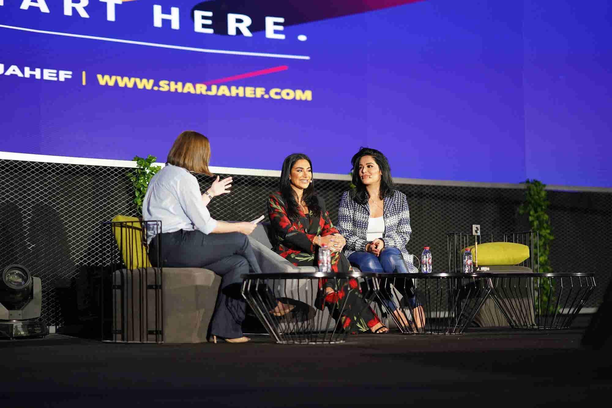 Huda Beauty's Huda and Mona Kattan Share Tips For 'Treps At SharjahEF 2018