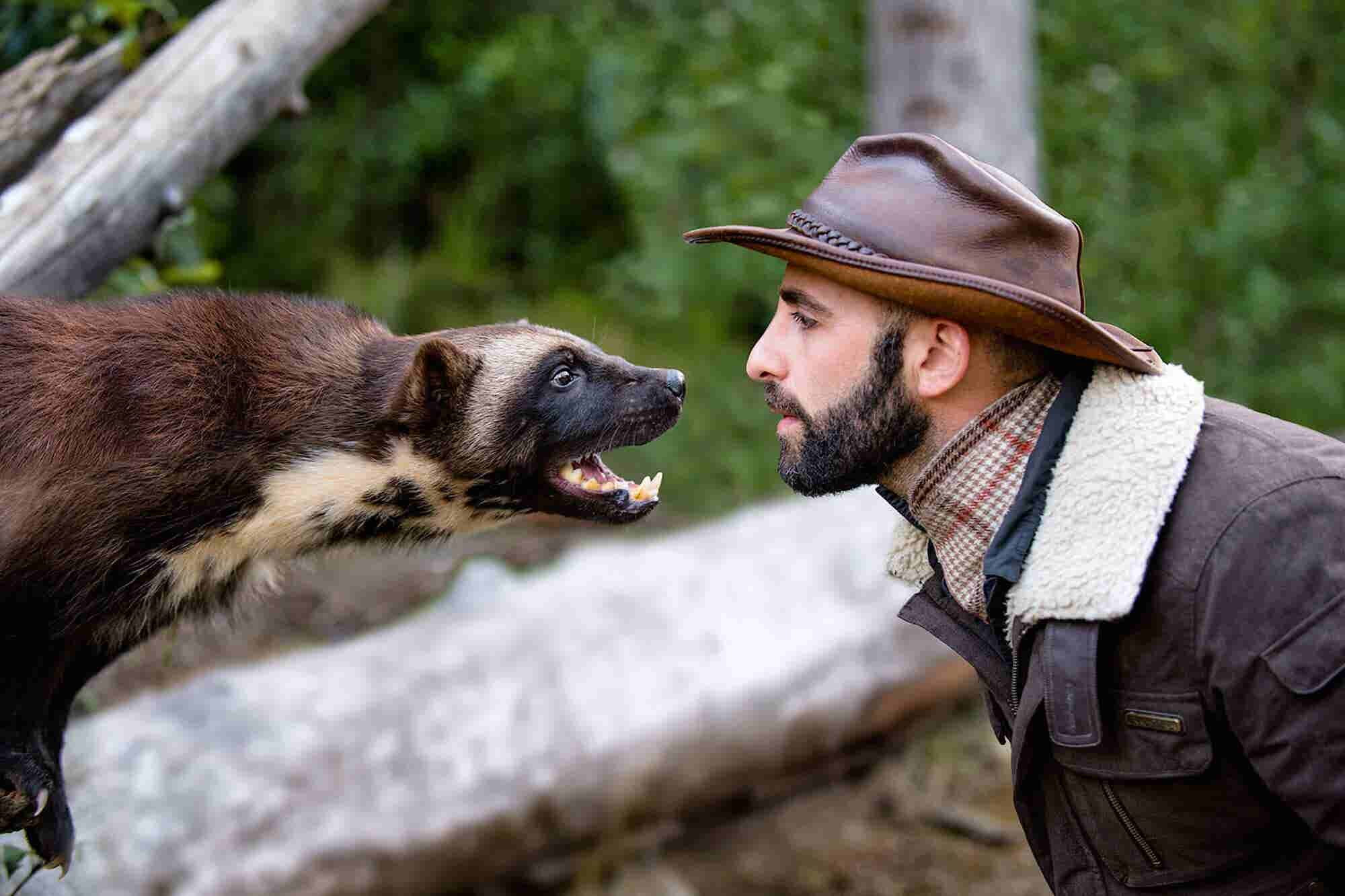 How YouTube's Top Wildlife Star Turned Getting Bitten by Animals Into...