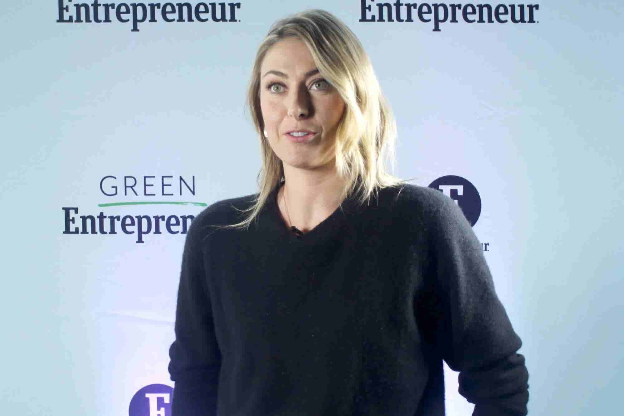 Here's What Drives Maria Sharapova as an Athlete and Entrepreneur