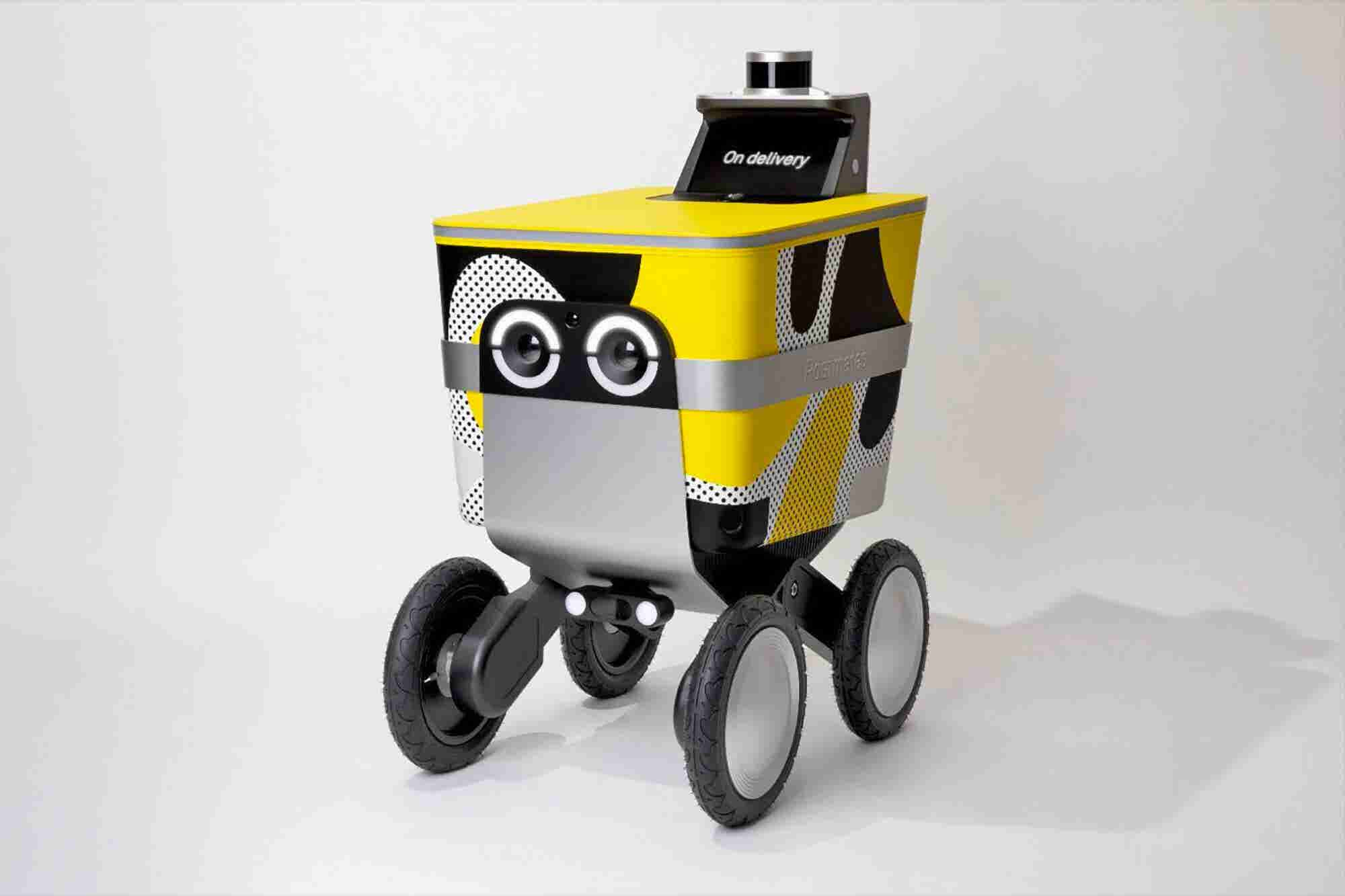Postmates Unveils Its Adorable Autonomous Delivery Robot